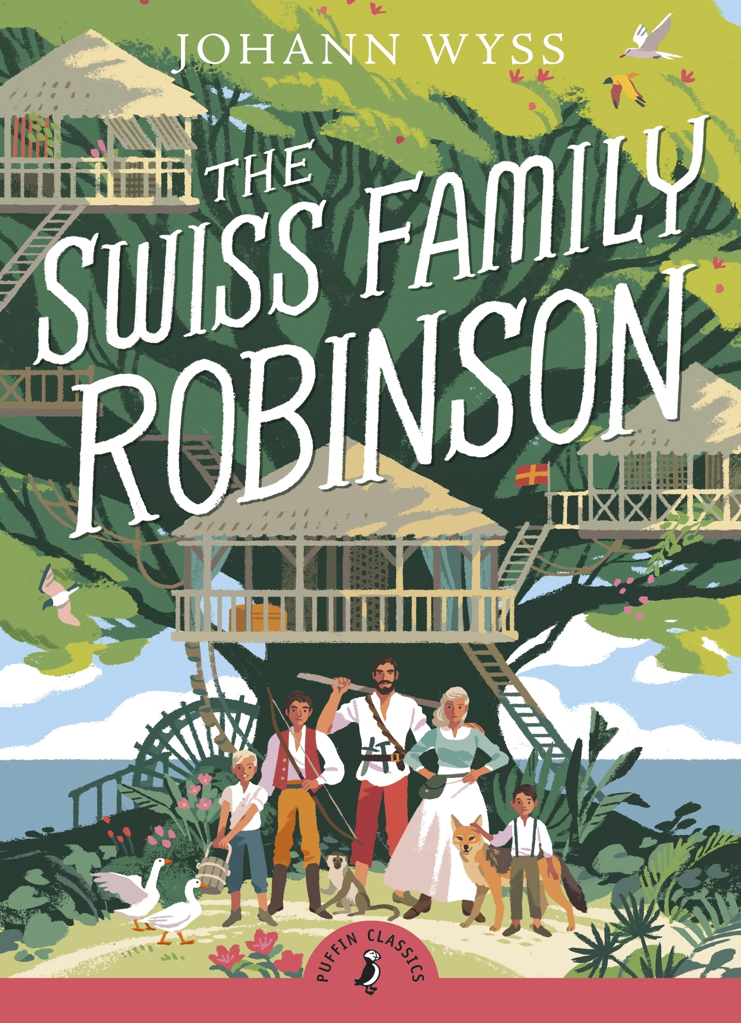 the swiss family robinson book report The swiss family robinson by johann wyss is a story about a family who are shipwrecked on an uninhabited island the ship was being tossed by angry waves the whole crew and captain had deserted their ship only to perish to the sea the only ones remaining on board was the robinson family when the.