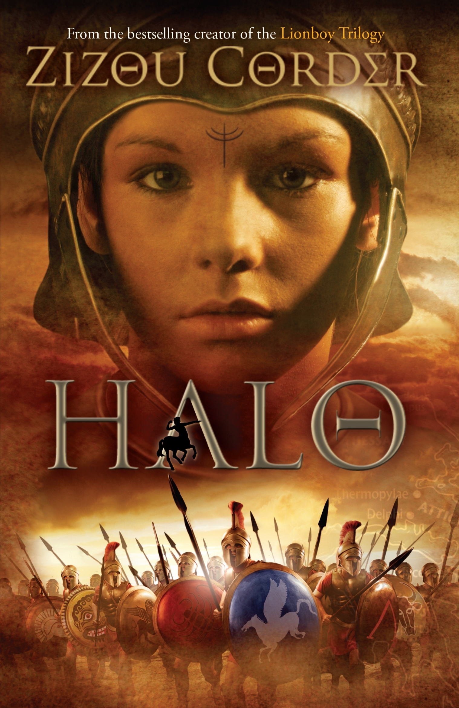 Book Cover:  Halo