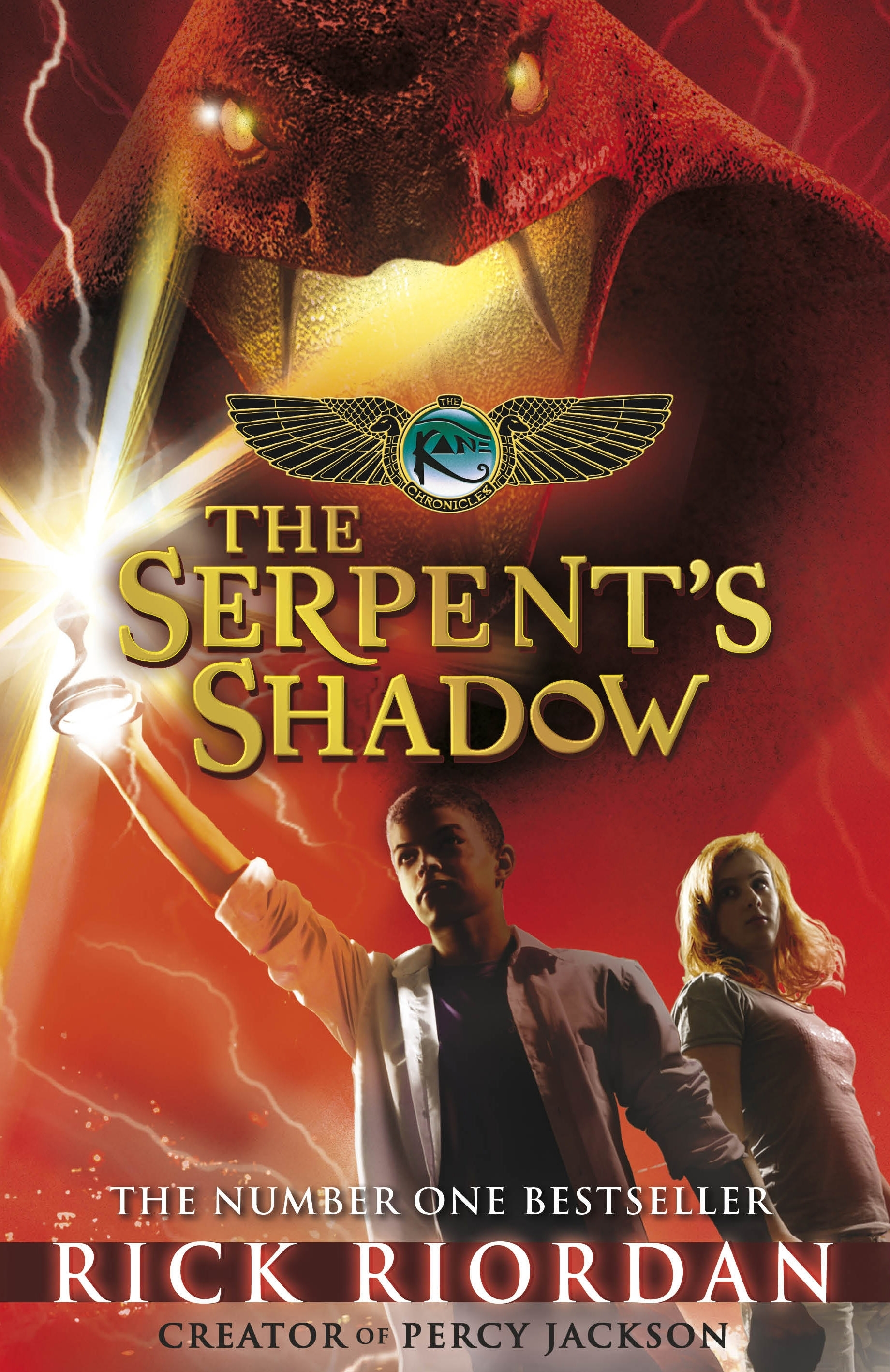 Book Cover: The Serpent's Shadow: Kane Chronicles