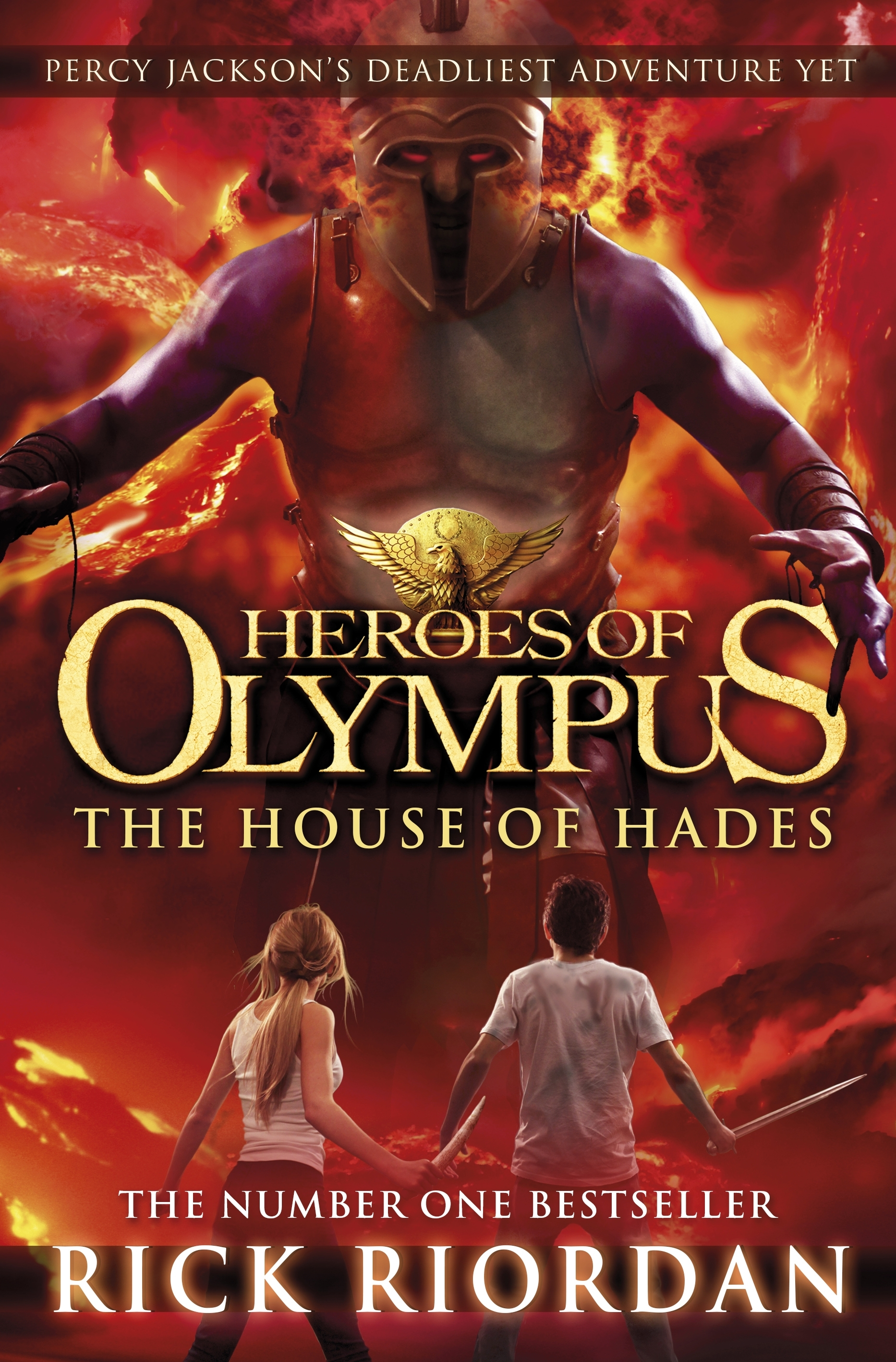 The Son Of Neptune Cover Book cover: house of hades: