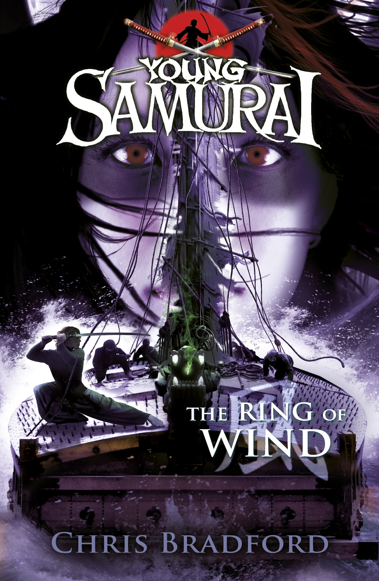 Book Cover:  Ring of Wind: Young Samurai