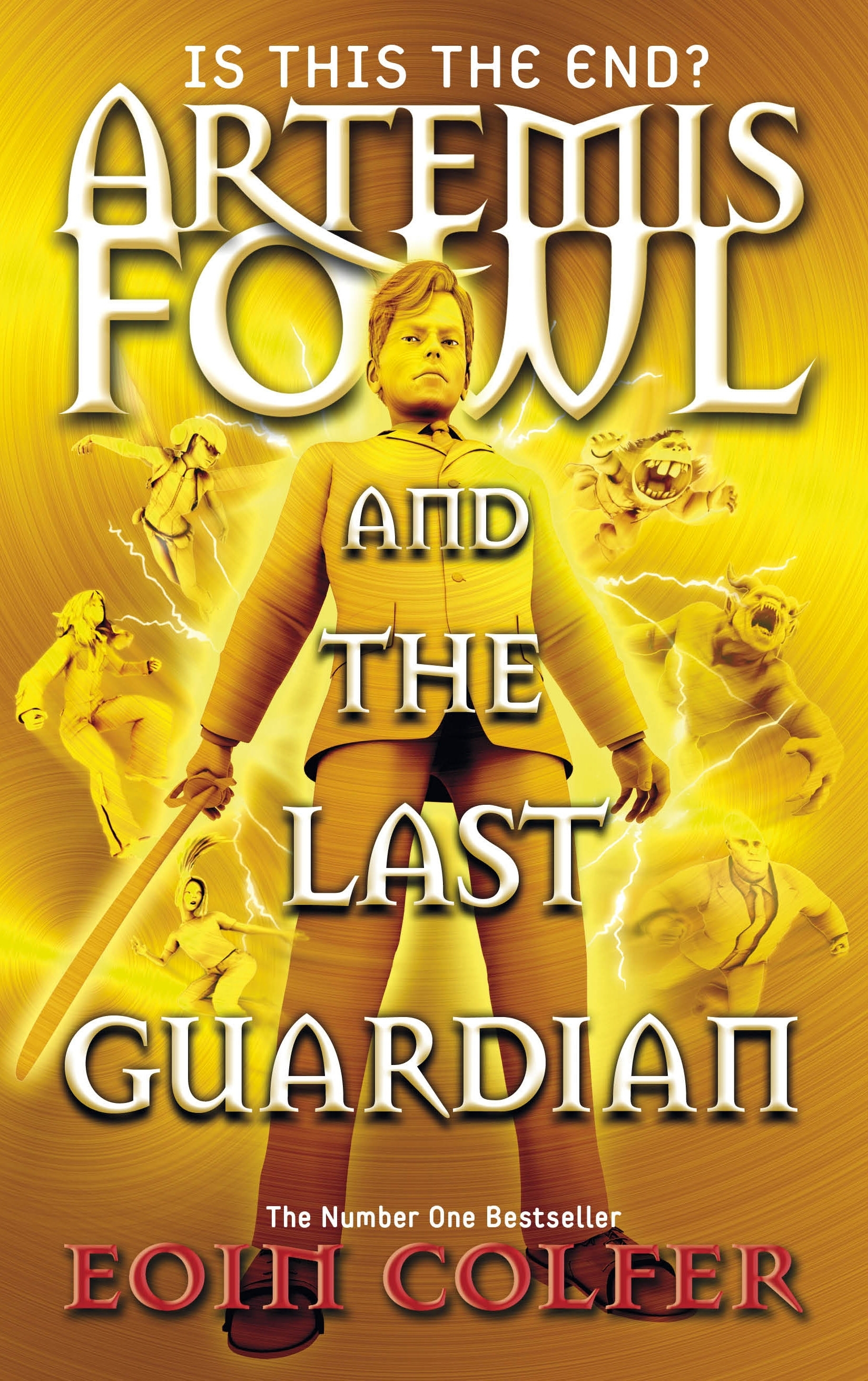 Artemis Fowl and the Last Guardian by Eoin Colfer  Review by Nalini Haynes