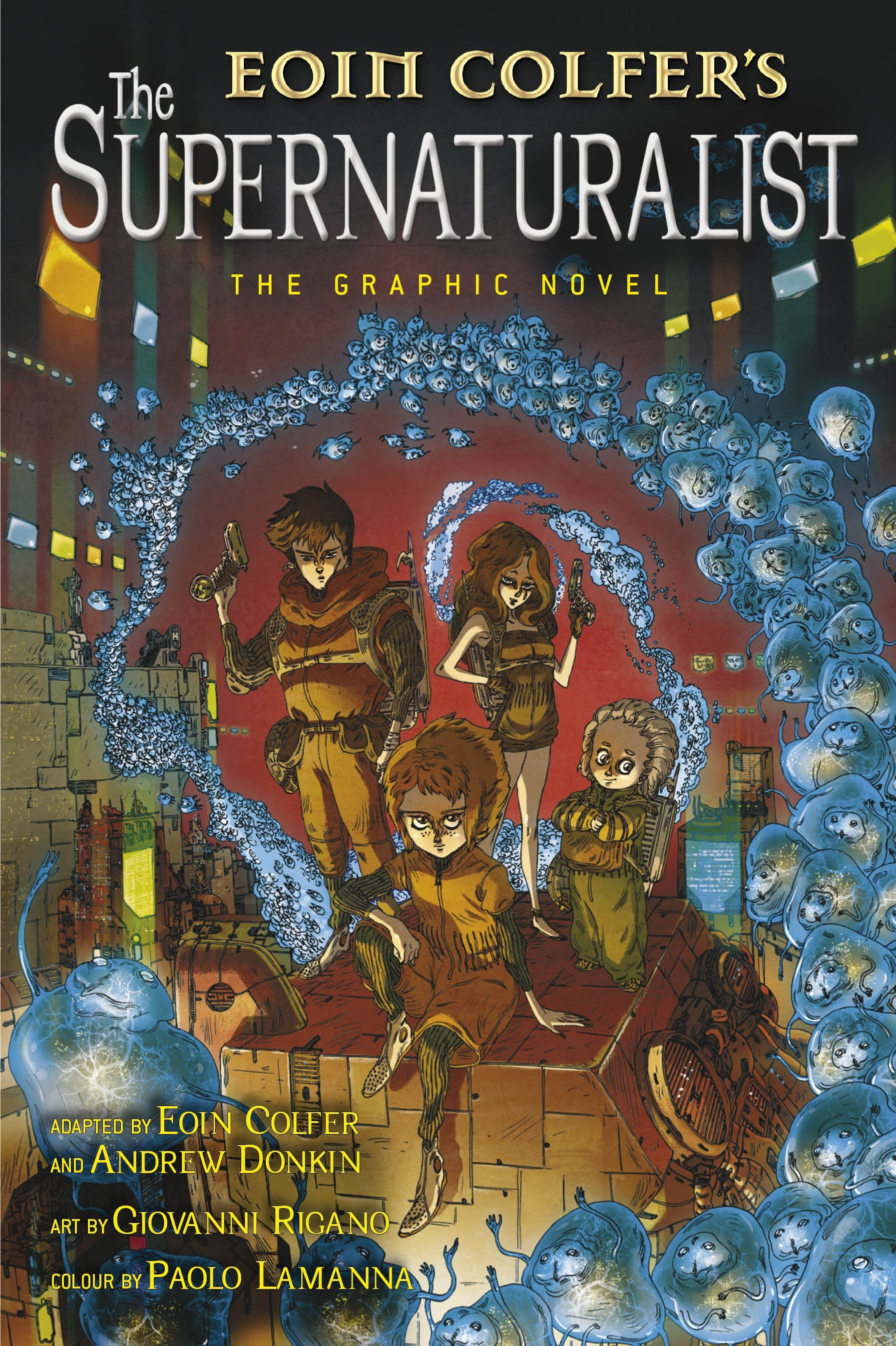 Book Cover:  Supernaturalist: The Graphic Novel, The