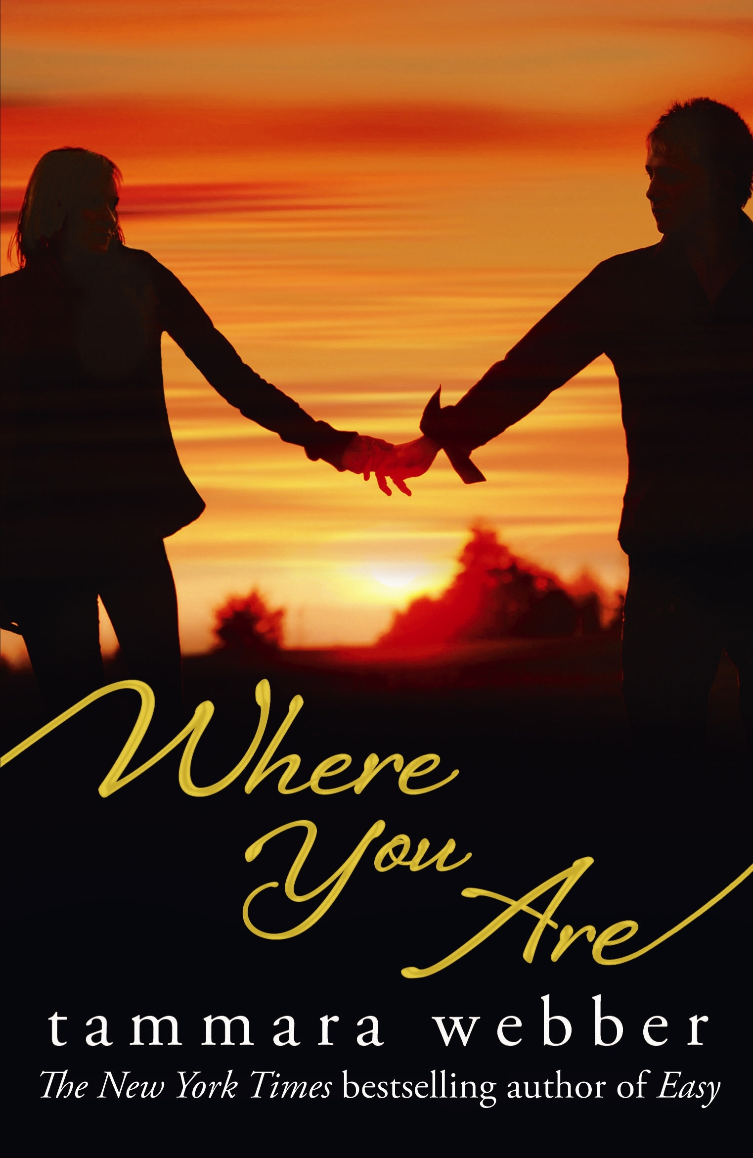 Book Cover:  Where You Are: Between the Lines