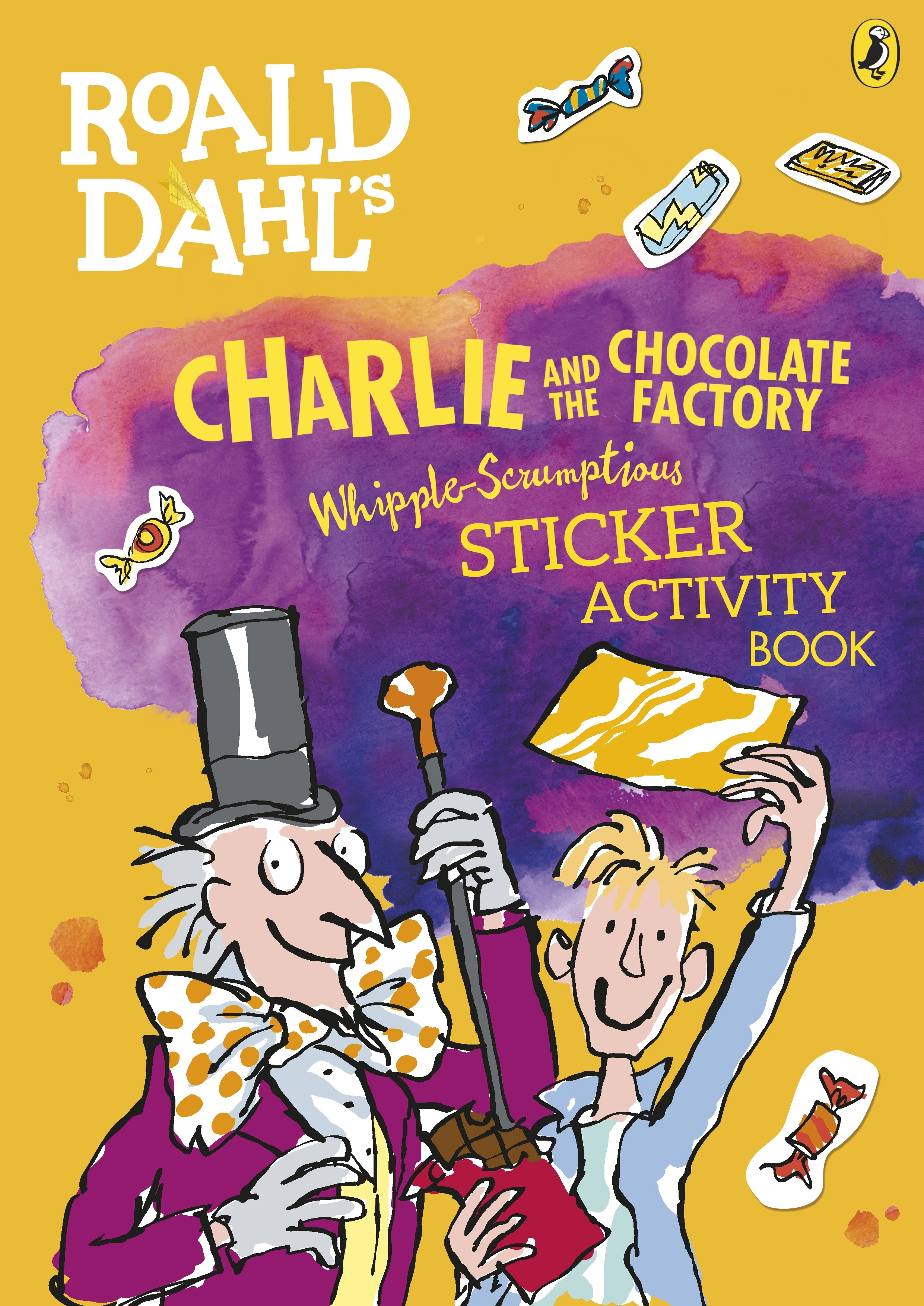 Roald Dahl Charlie And The Chocolate Factory Sticker Activity Book ...