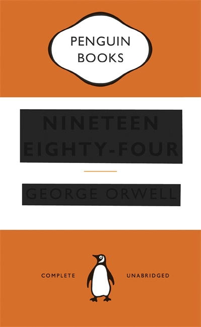 Penguin Book Cover Competition Previous Winners : Nineteen eighty four penguin books australia