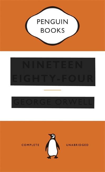 Penguin Book Cover Winners : Nineteen eighty four penguin books australia