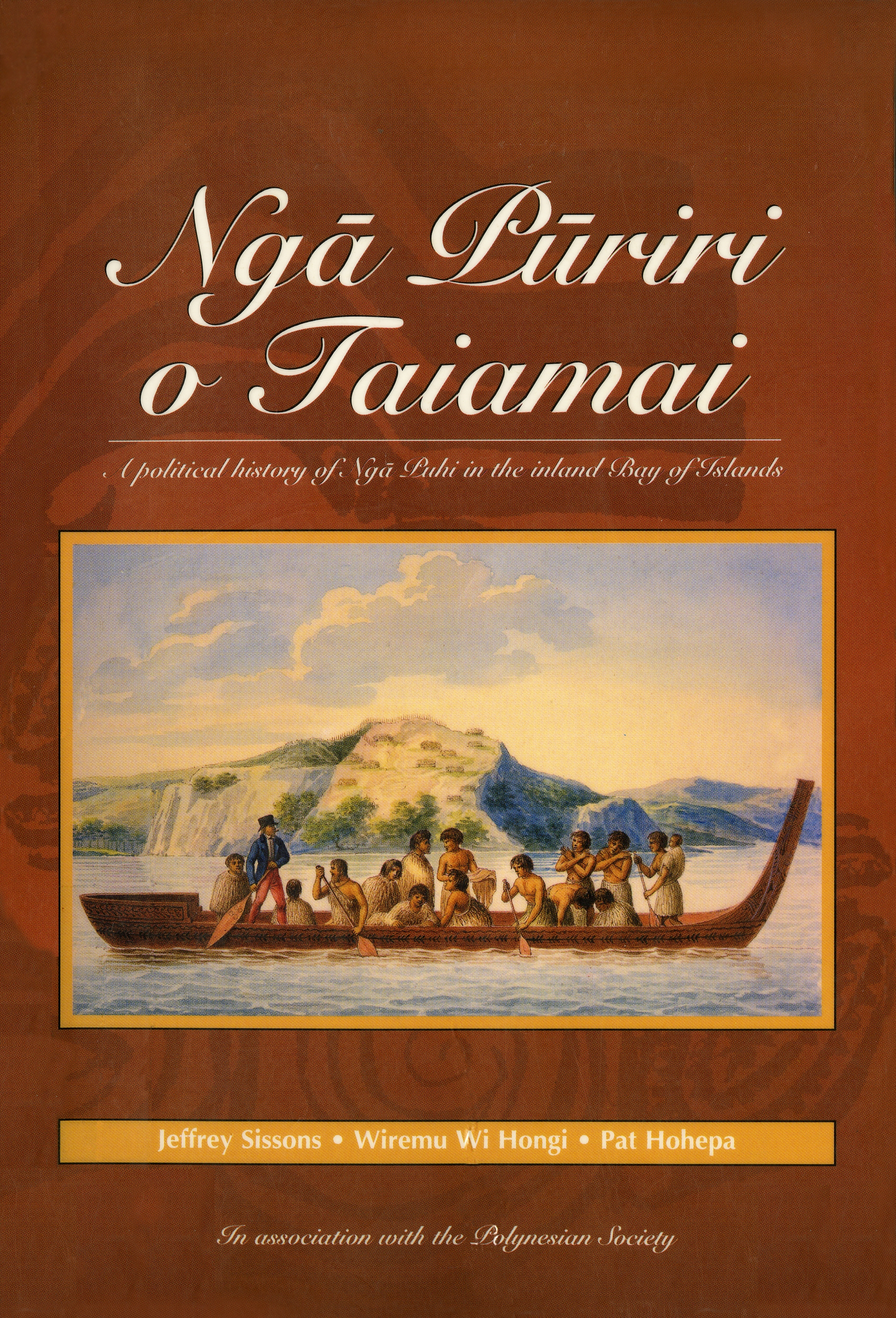Book Cover:  Nga Puriri O Taiamai