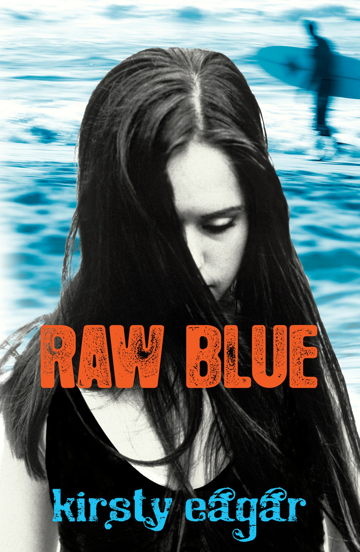 Book Cover:  Raw Blue