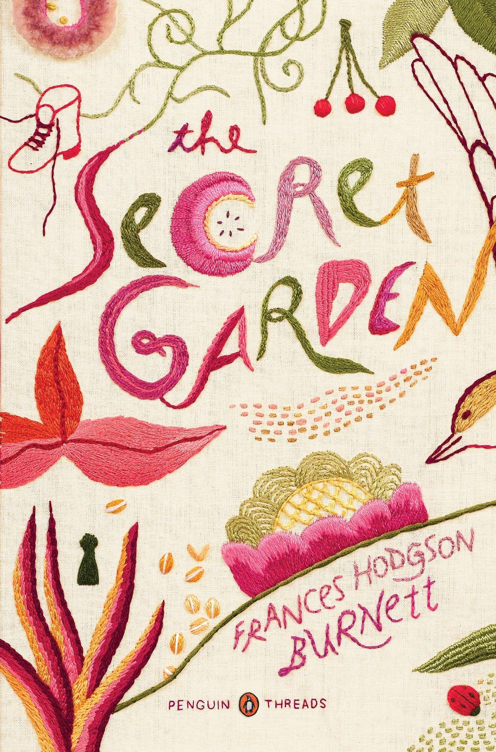 Penguin Classics Book Cover ~ Secret garden penguin threads classics deluxe