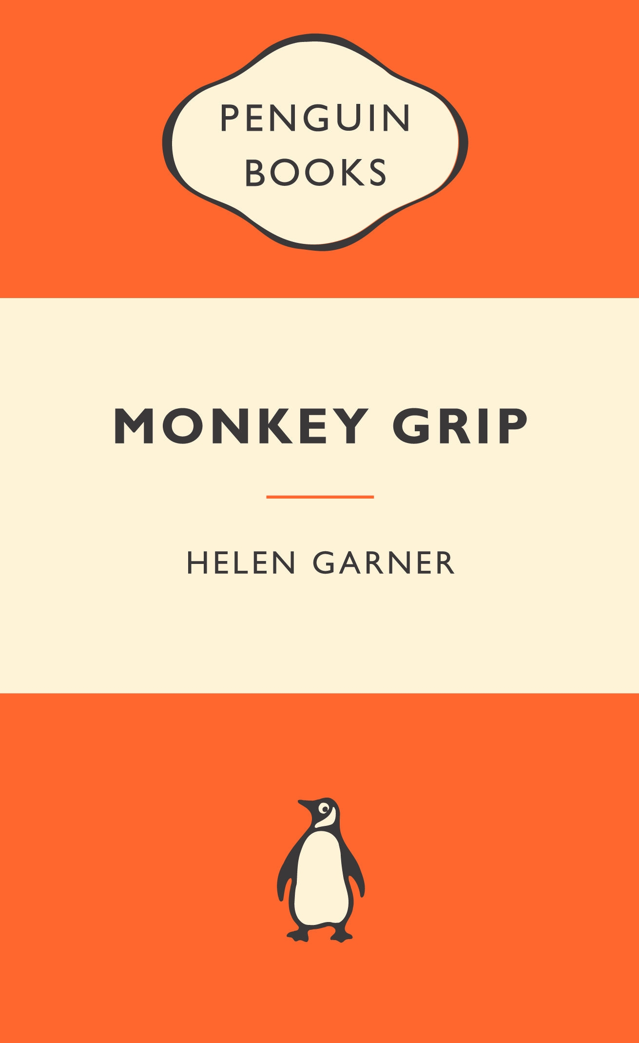 Book Cover:  Monkey Grip: Popular Penguins