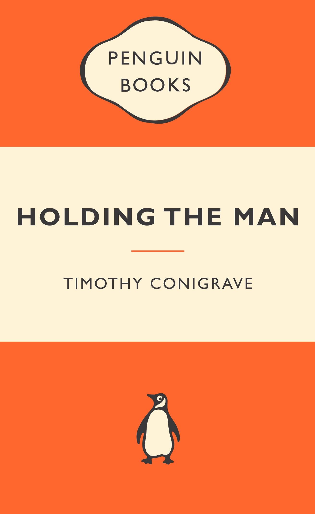 Penguin Book Cover Job : Holding the man popular penguins penguin books australia