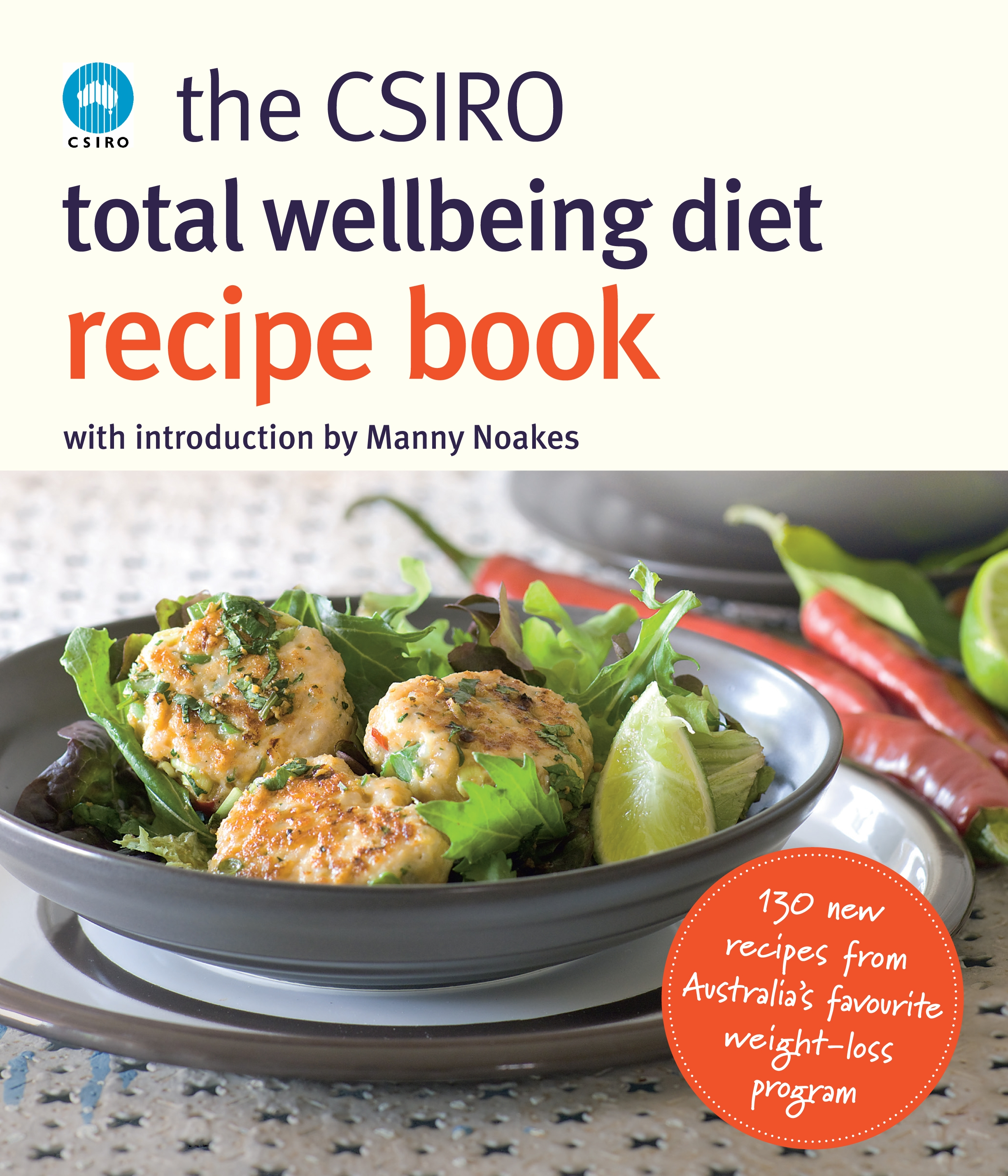 Book Cover:  Csiro Total Wellbeing Diet Recipe Book, The