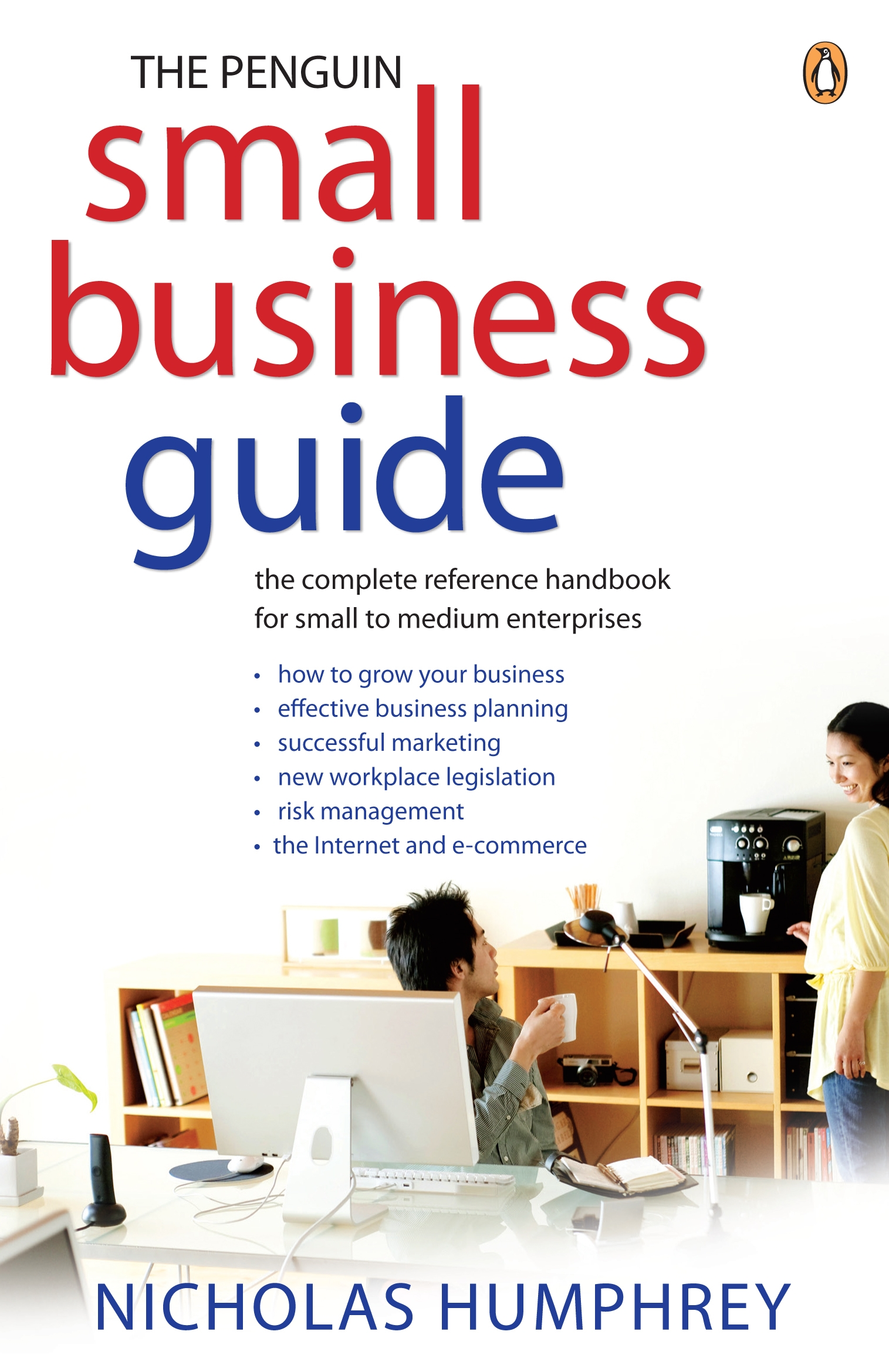Business Book Cover Jobs : Penguin small business guide the complete reference