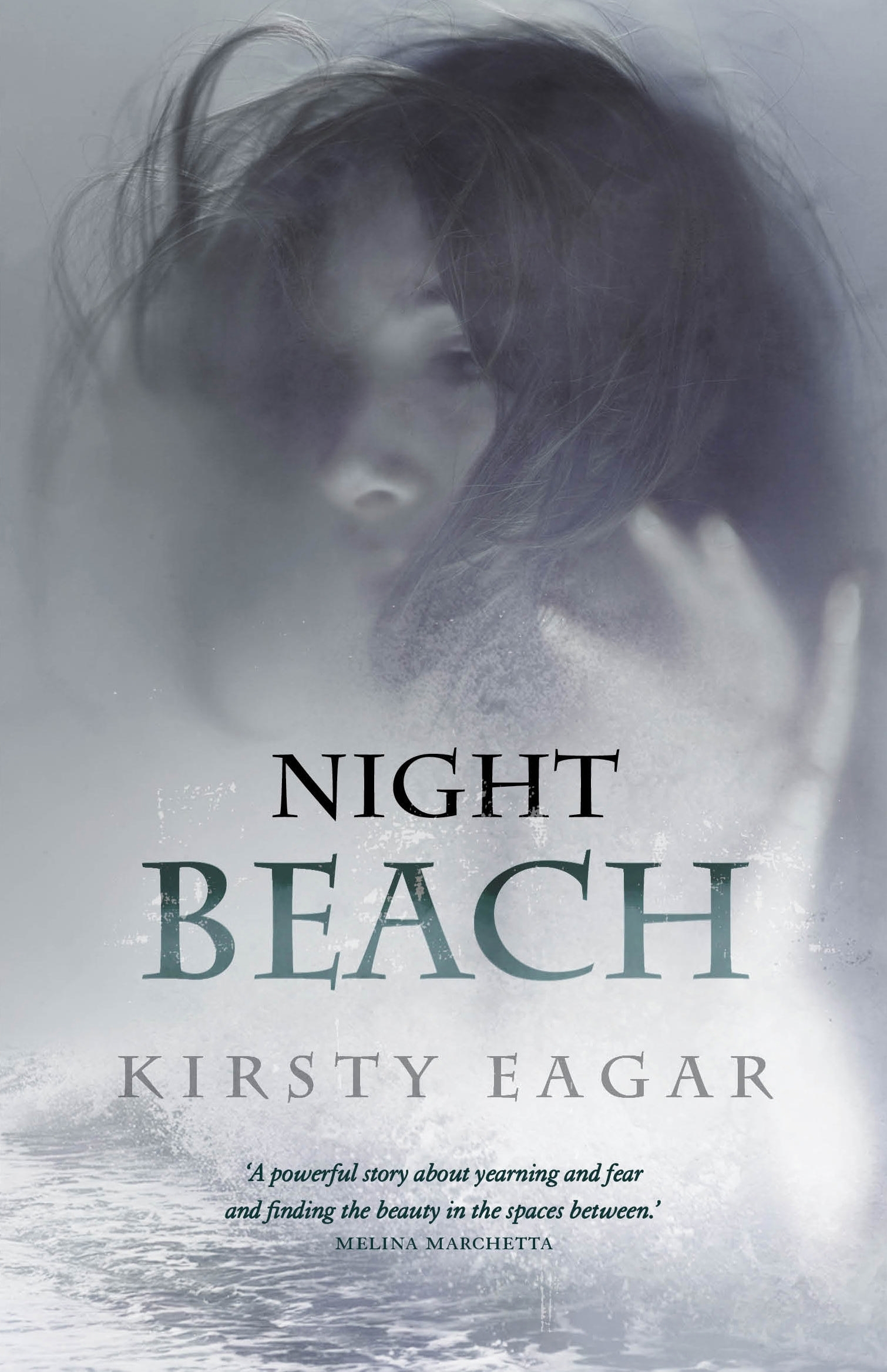 Book Cover:  Night Beach