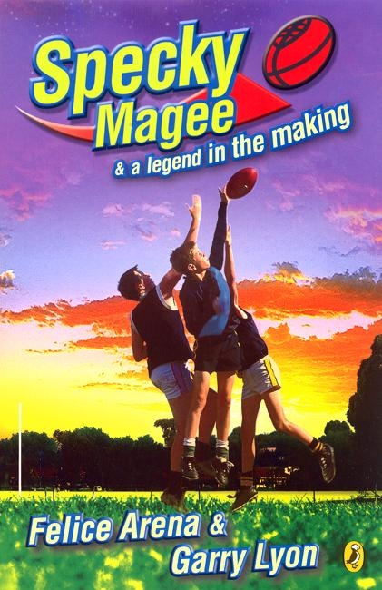 Book cover: Specky Magee & a Legend in the Making