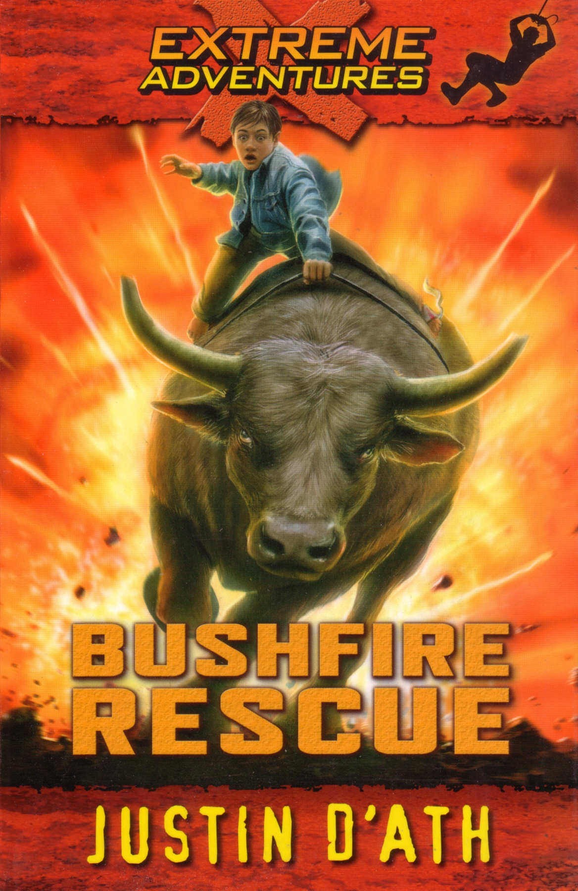 Book Cover:  Bushfire Rescue: Extreme Adventures