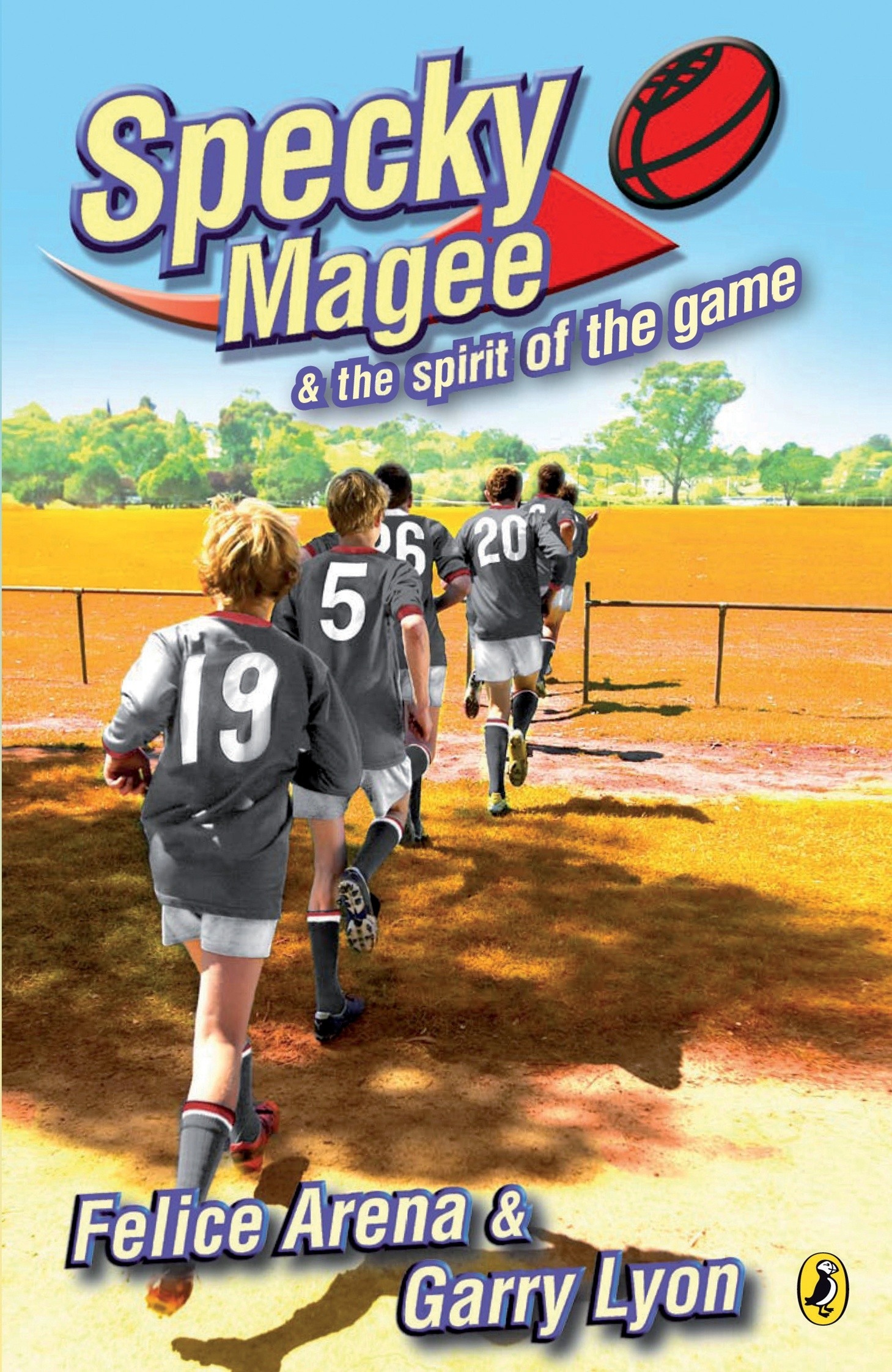 Book Cover:  Specky Magee and the Spirit of the Game