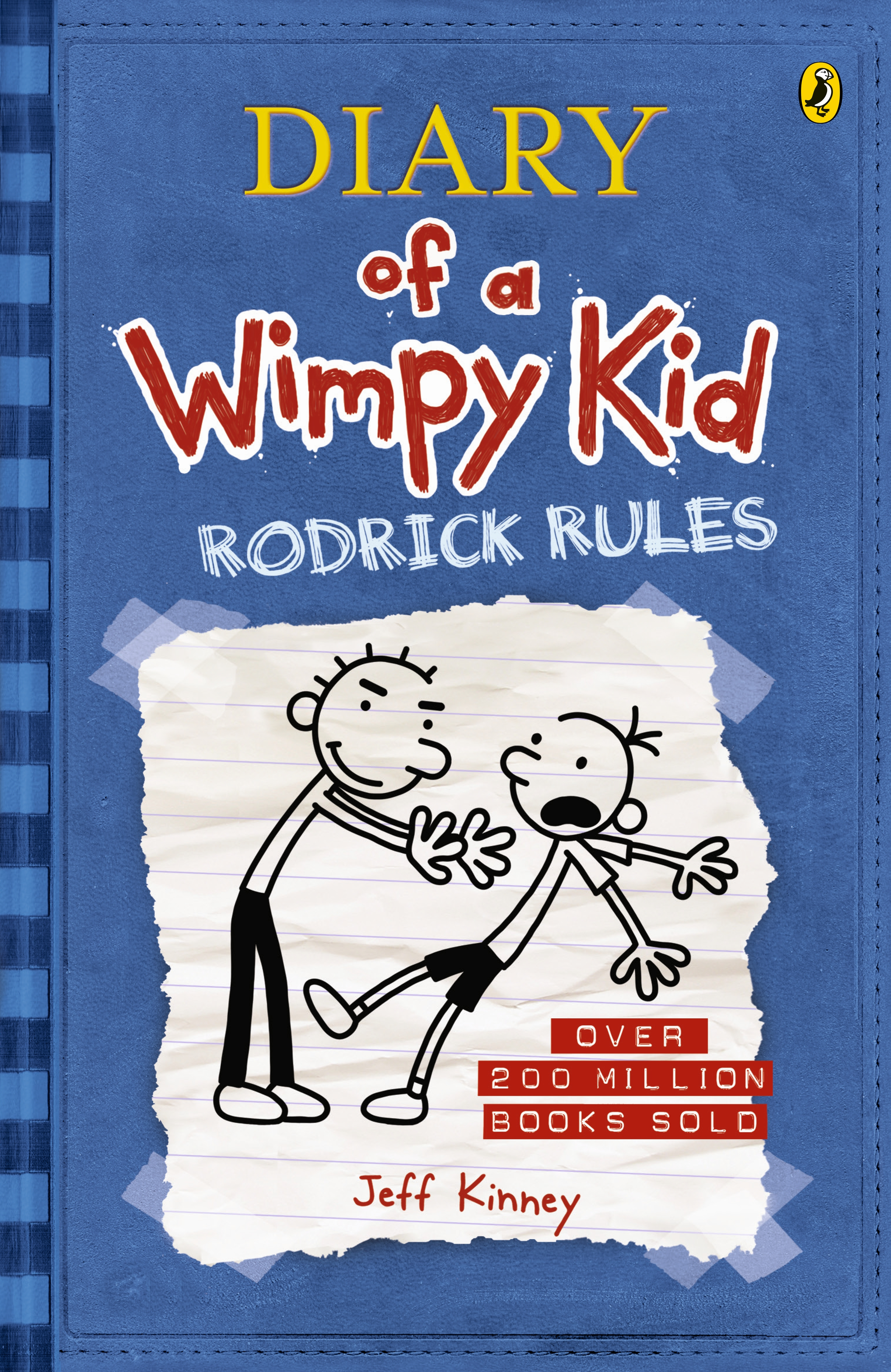 Book Cover:  Rodrick Rules: Diary of a Wimpy Kid