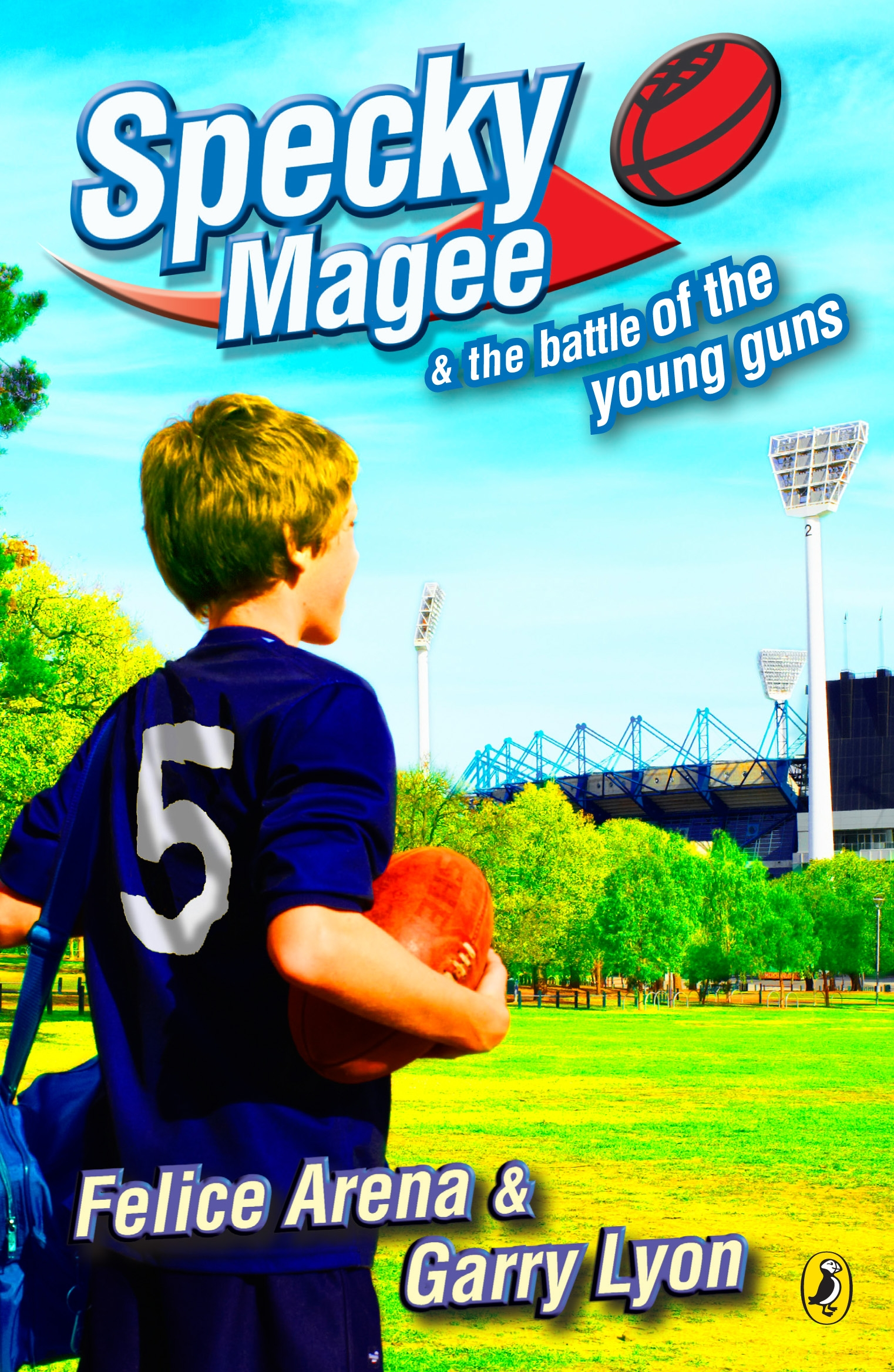 Book Cover:  Specky Magee & The Battle Of The Young Guns