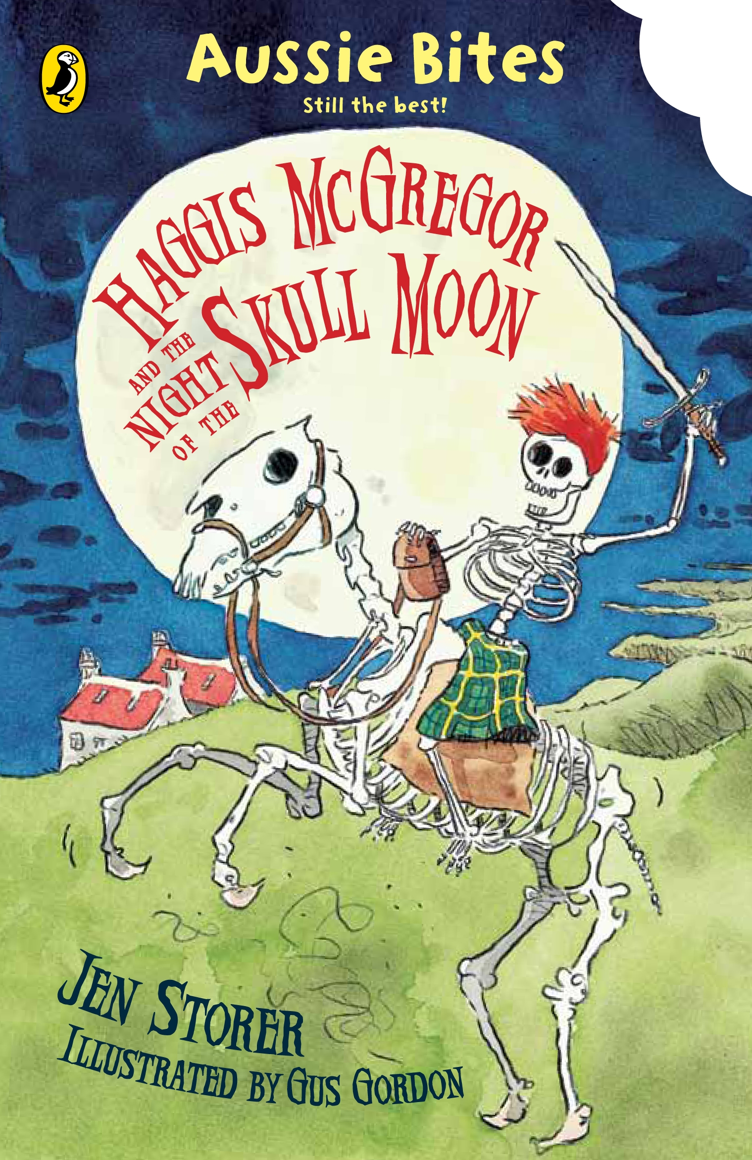 Book Cover:  Haggis McGregor and the Night of the Skull Moon : Aussie Bites