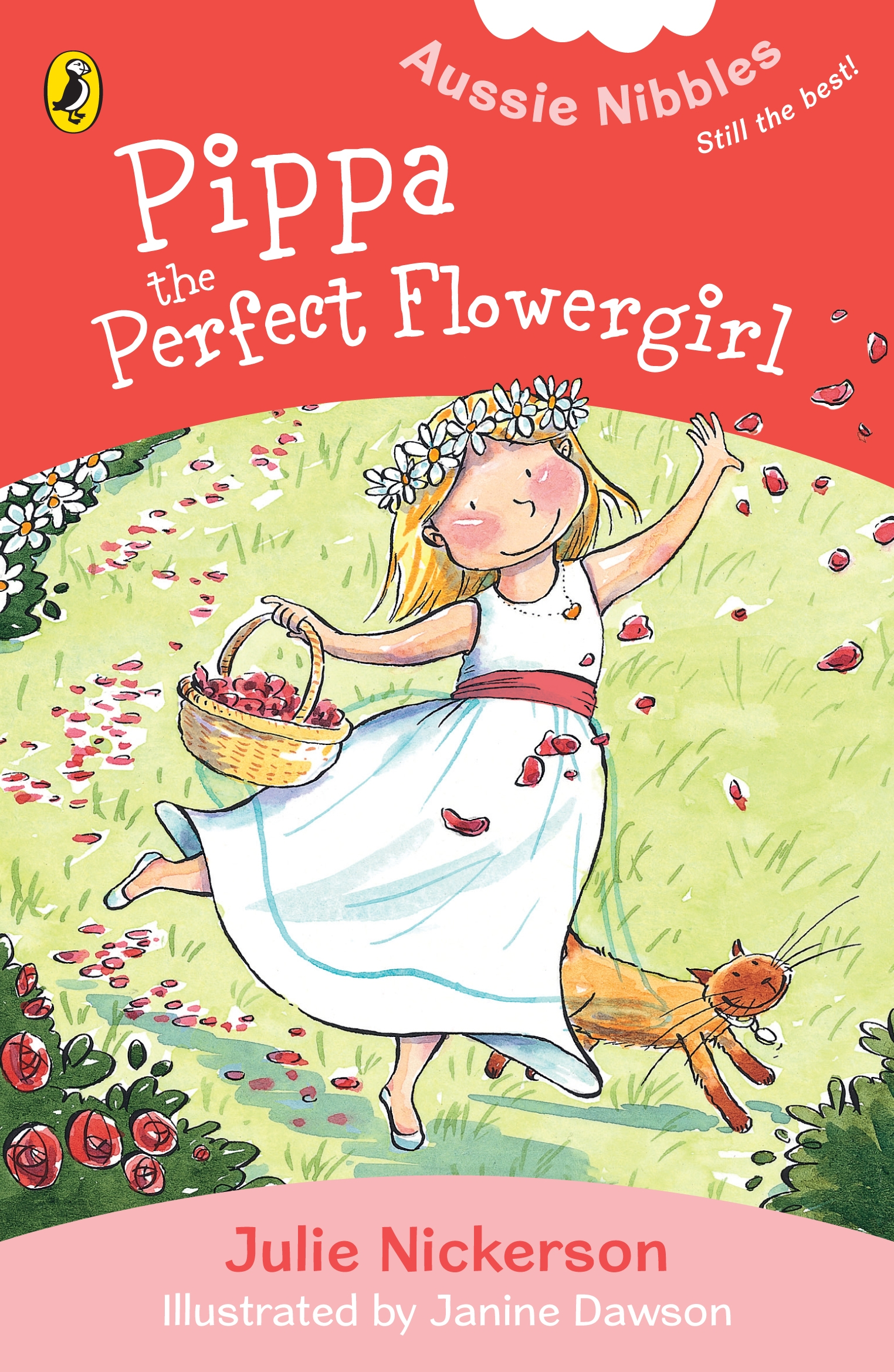 Book Cover:  Pippa, the Perfect Flowergirl: Aussie Nibbles