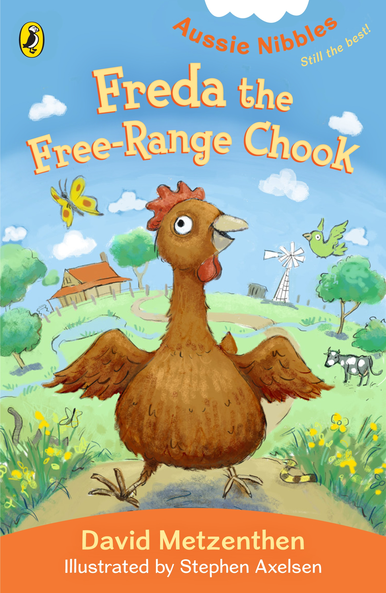 Book Cover:  Aussie Nibbles: Freda the Free-range Chook