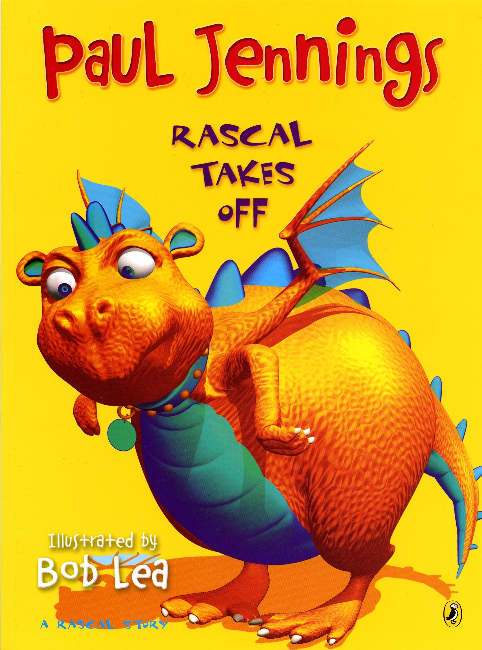 Book Cover:  Rascal Takes Off