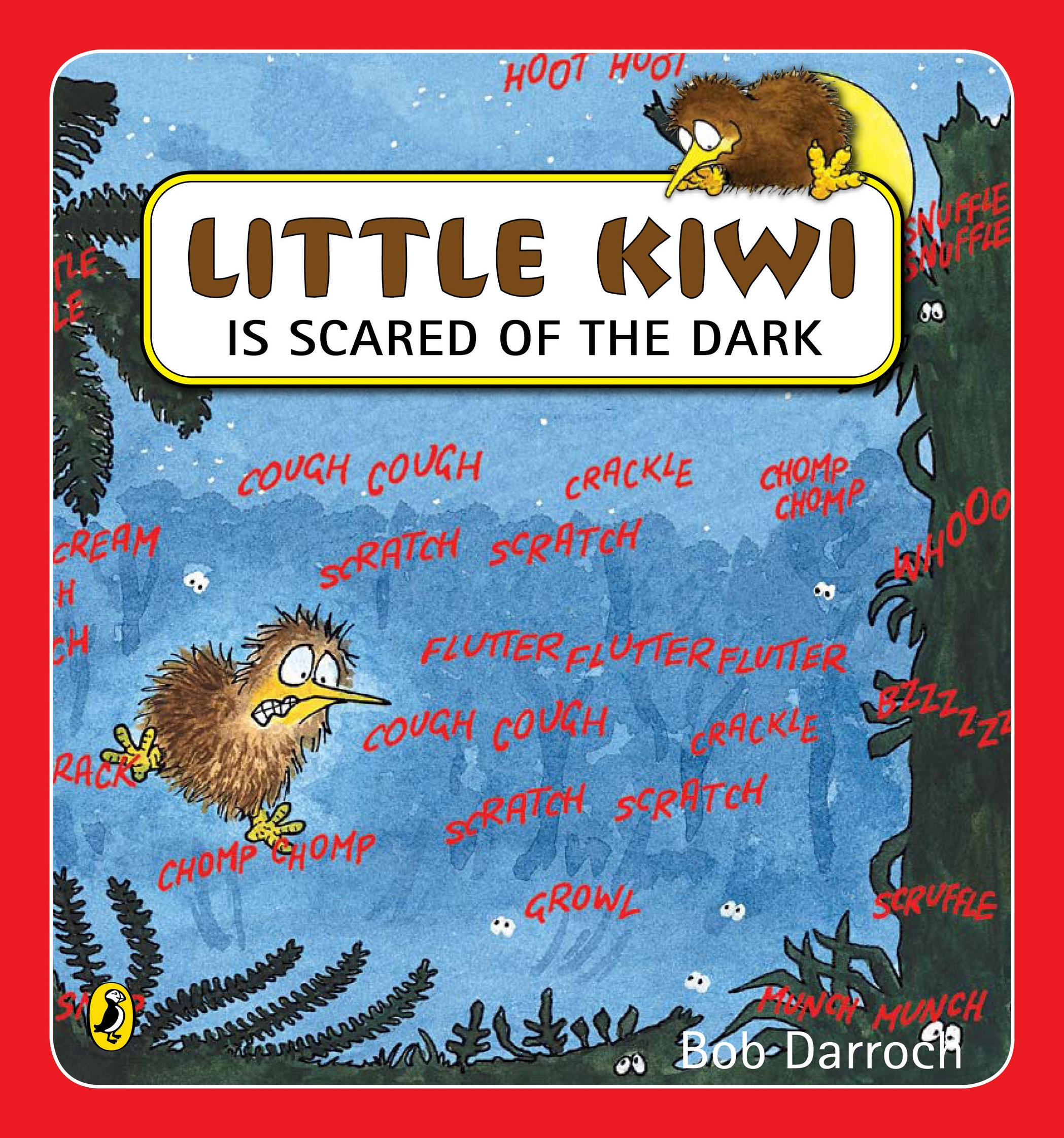 Book Cover:  Little Kiwi is Scared of the Dark