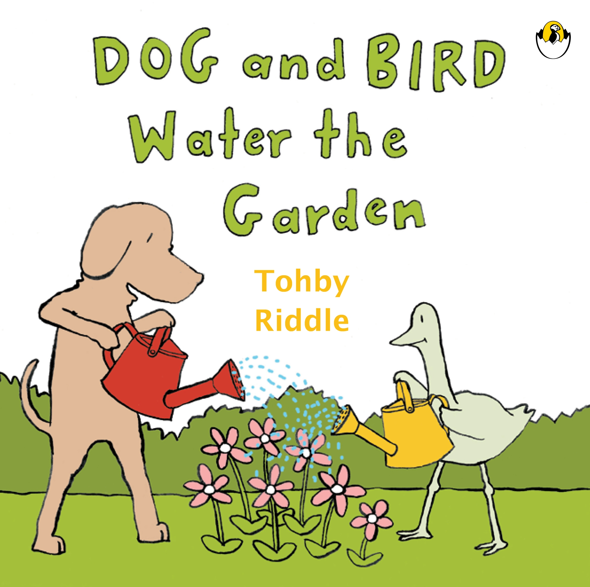 Book Cover:  Dog & Bird Water The Garden