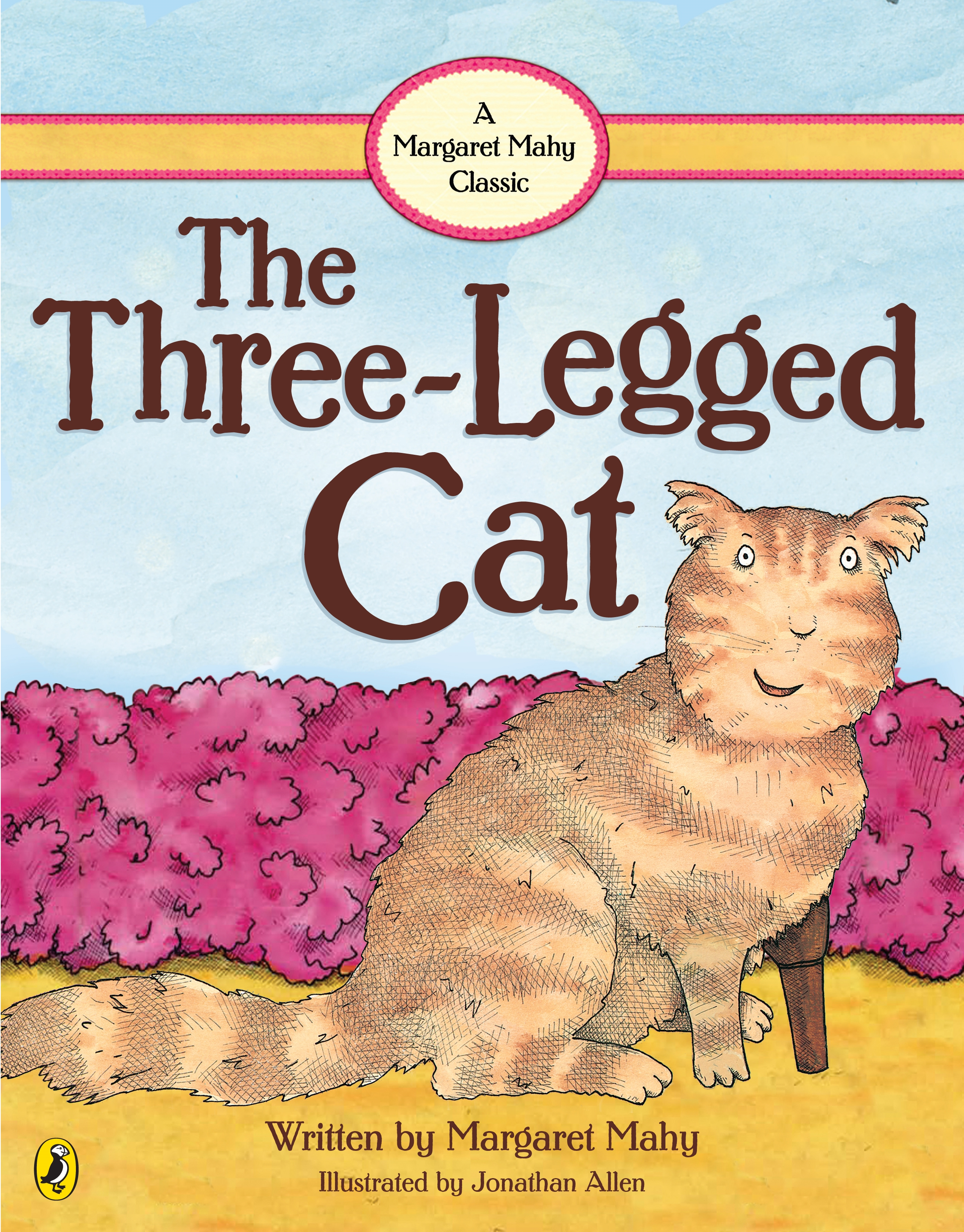 Book Cover:  Three Legged Cat, The