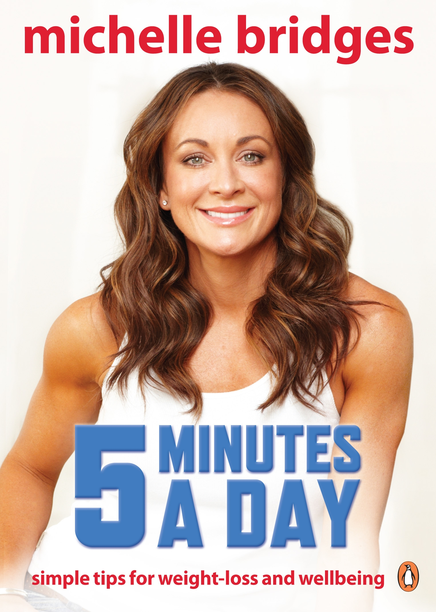 Book Cover:  Michelle Bridges: 5 Minutes a Day