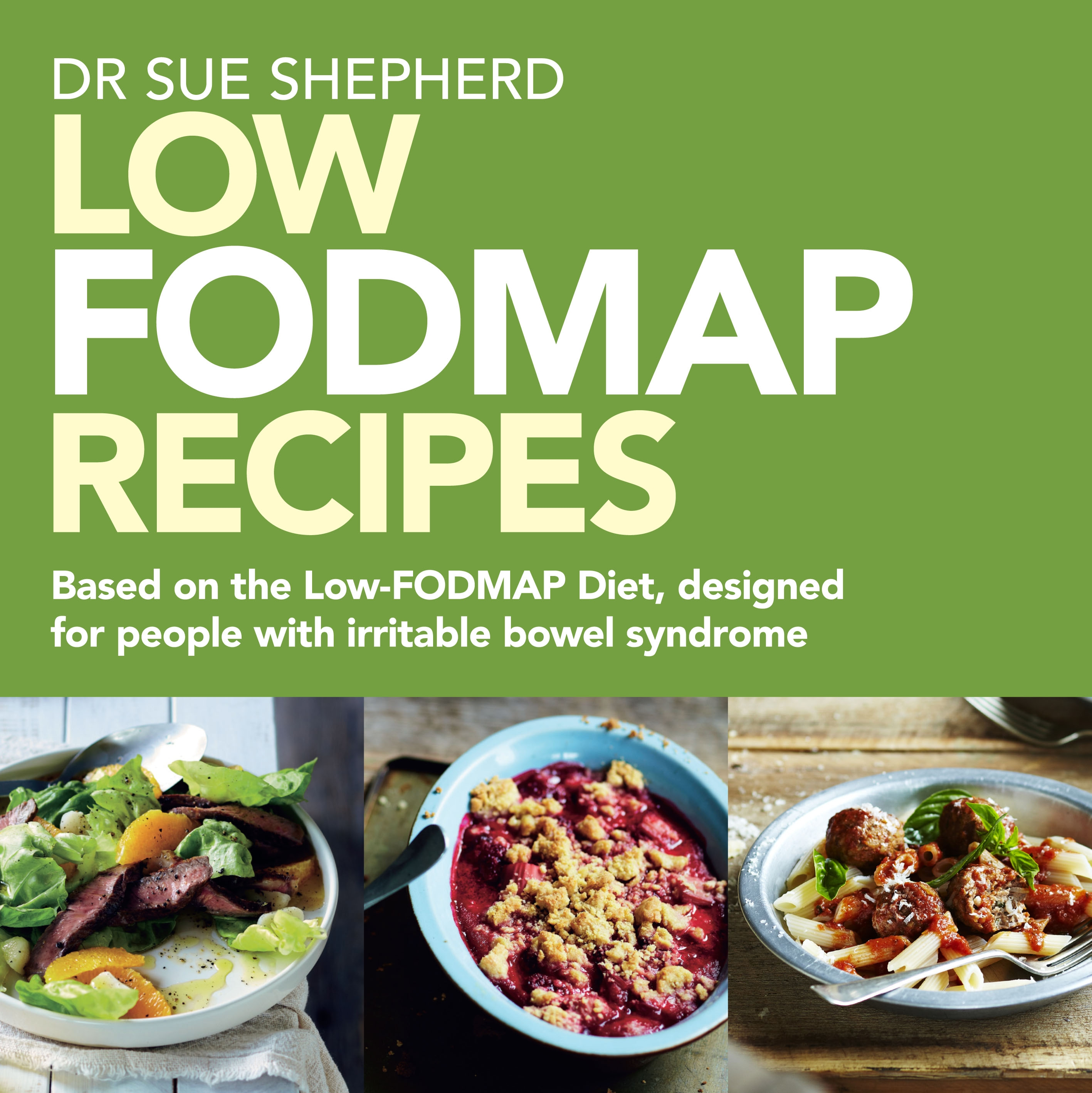 Book Cover:  Low Fodmap Recipes