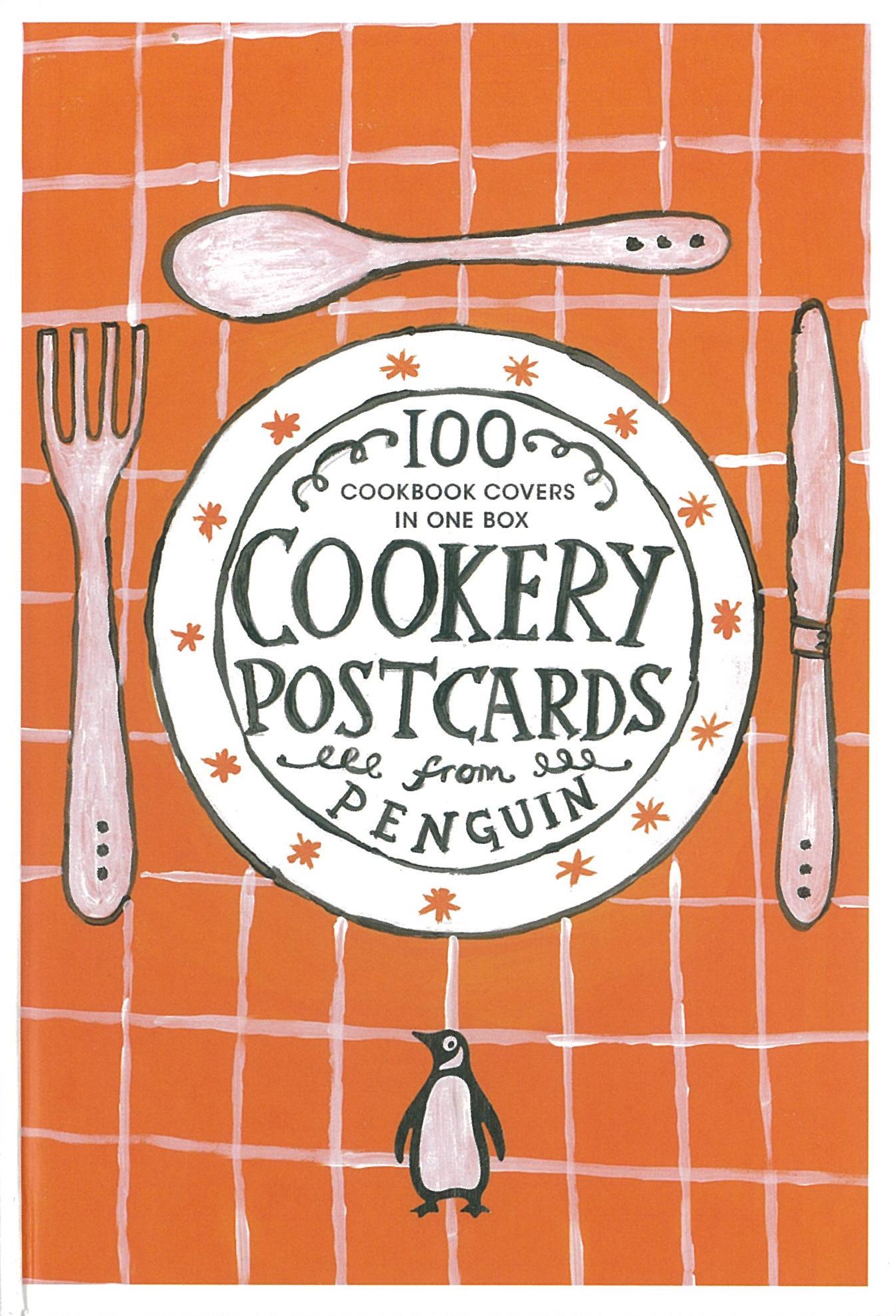 Vintage Penguin Book Cover Postcards : Les cookery postcards de penguin