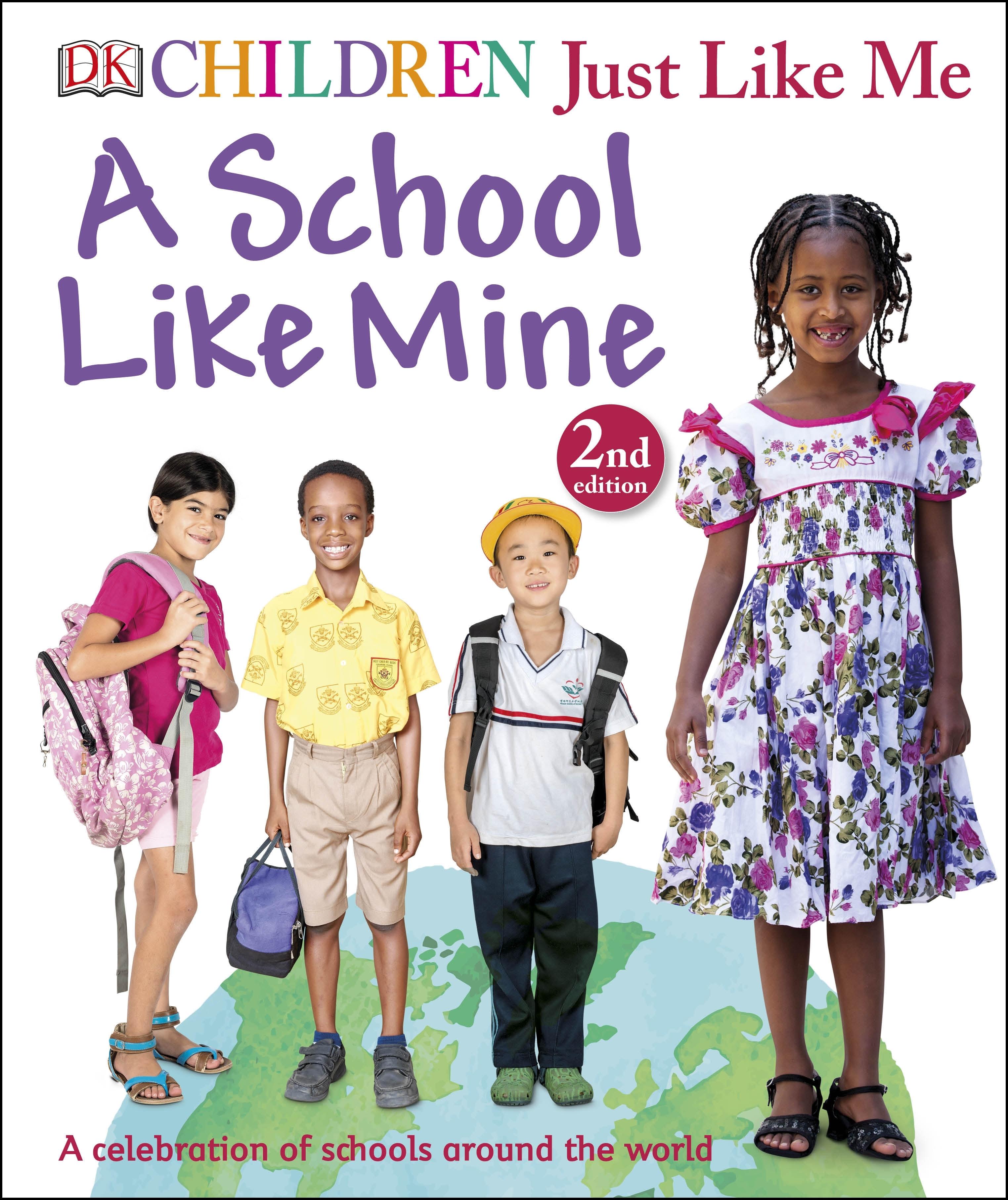 Book Cover School Near Me : Children just like me a school mine penguin books