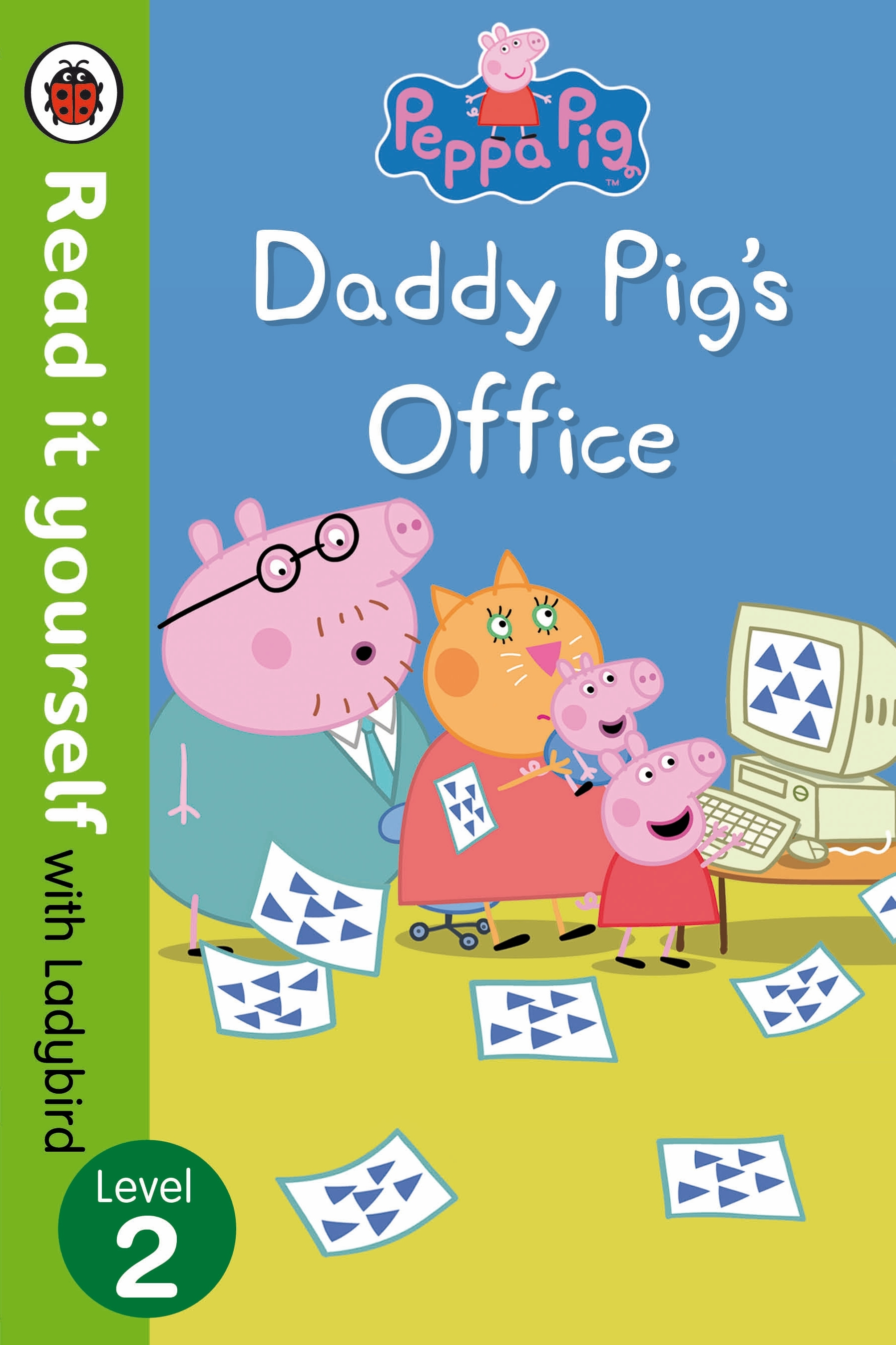Picture of Peppa Pig: Daddy Pig's Office - Read It Yourself with Ladybird Level 2