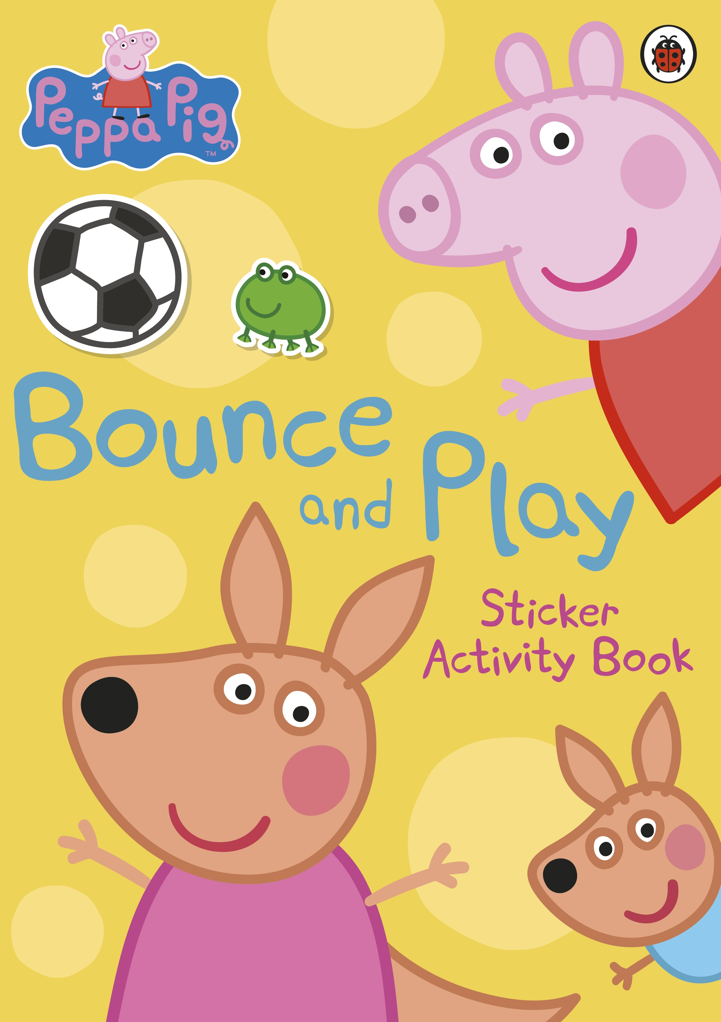 Picture of Peppa Pig: Bounce and Play Sticker Activity Book