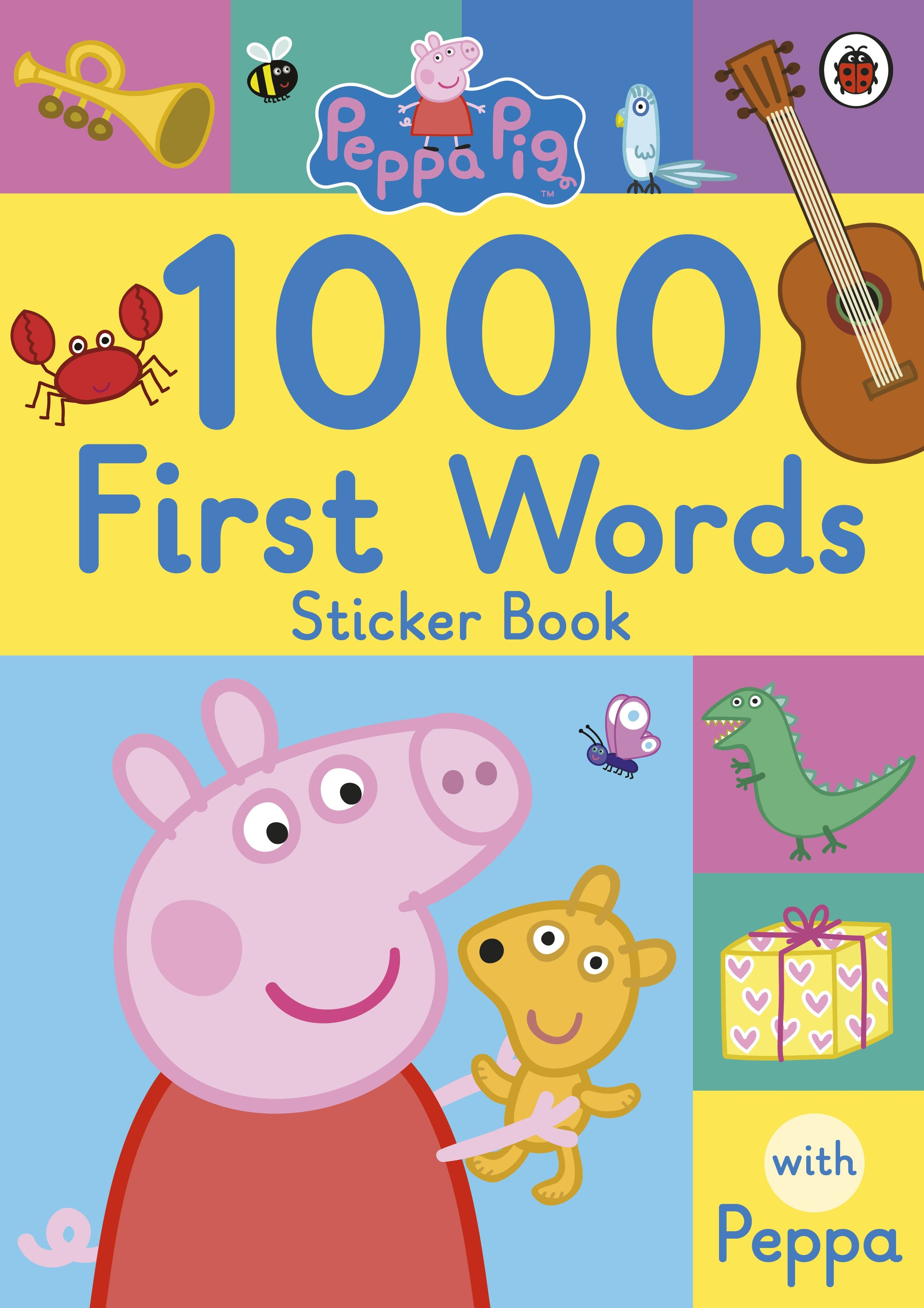Picture of Peppa Pig: 1000 First Words Sticker Book