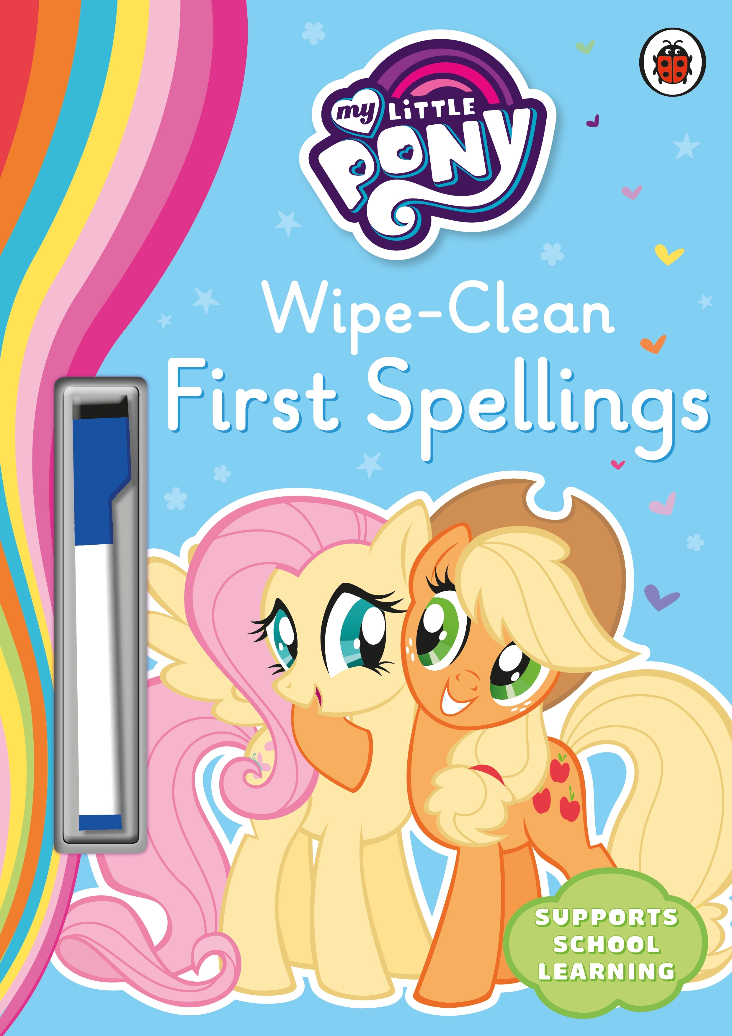 My little pony colouring book australia - My Little Pony Wipe Clean First Spellings