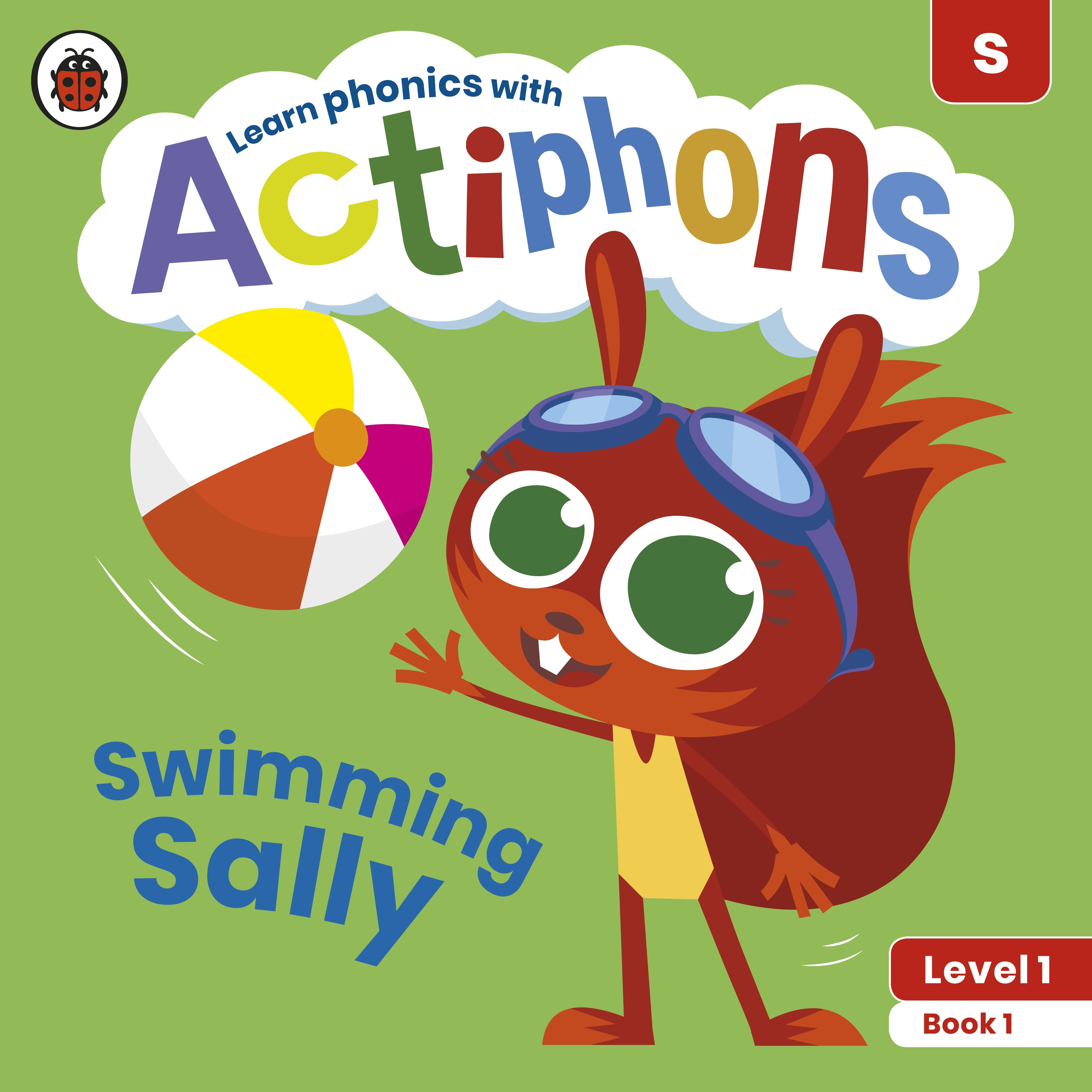 Actiphons Level 1 Book 1 Swimming Sally