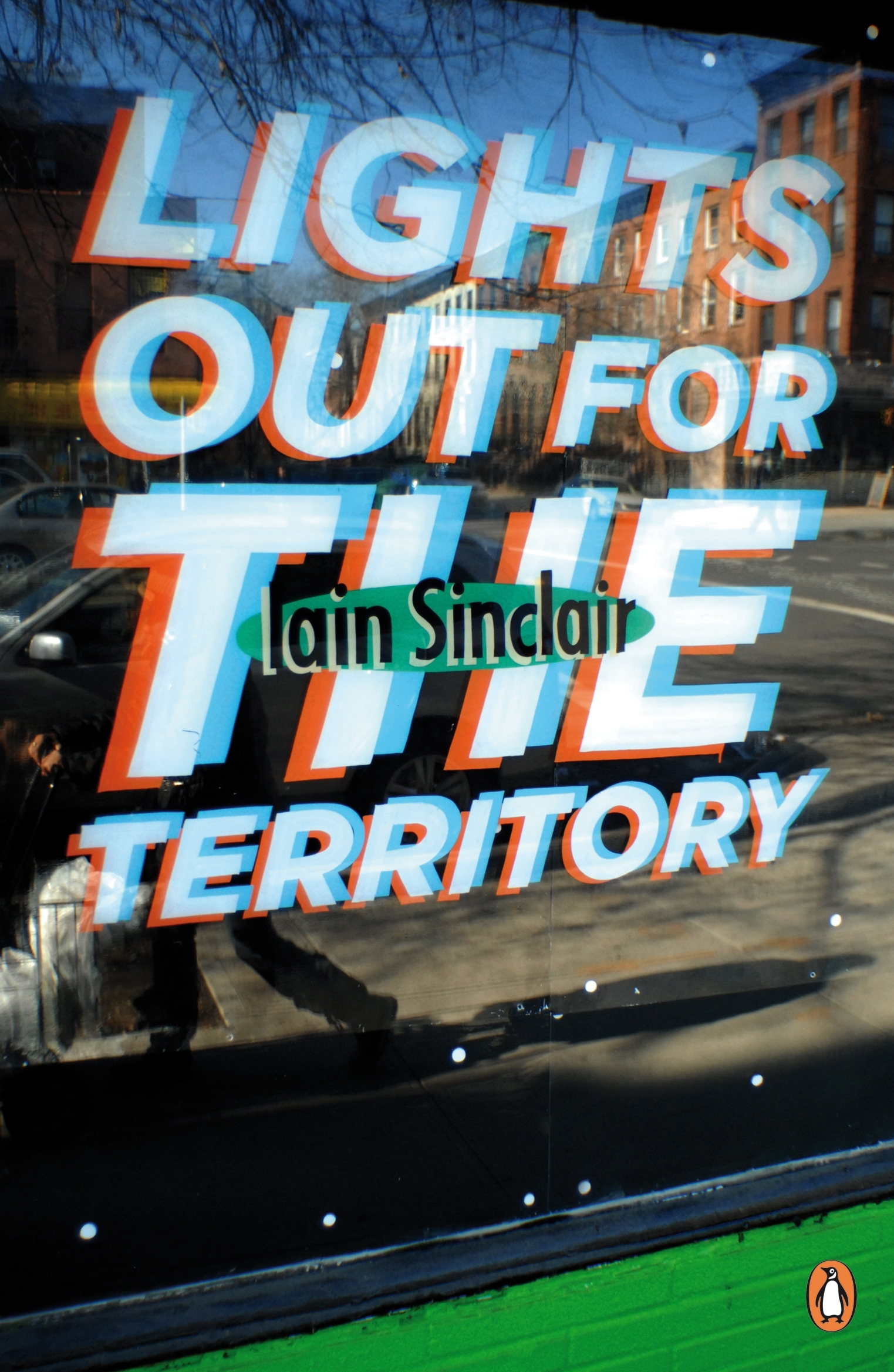 Book Cover:  Lights Out for the Territory: Penguin Street Art