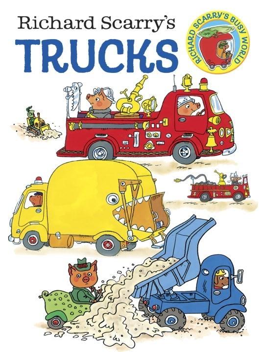 Board Bk: Richard Scarry's Trucks