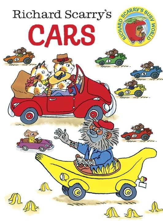 Board Bk: Richard Scarry's Cars