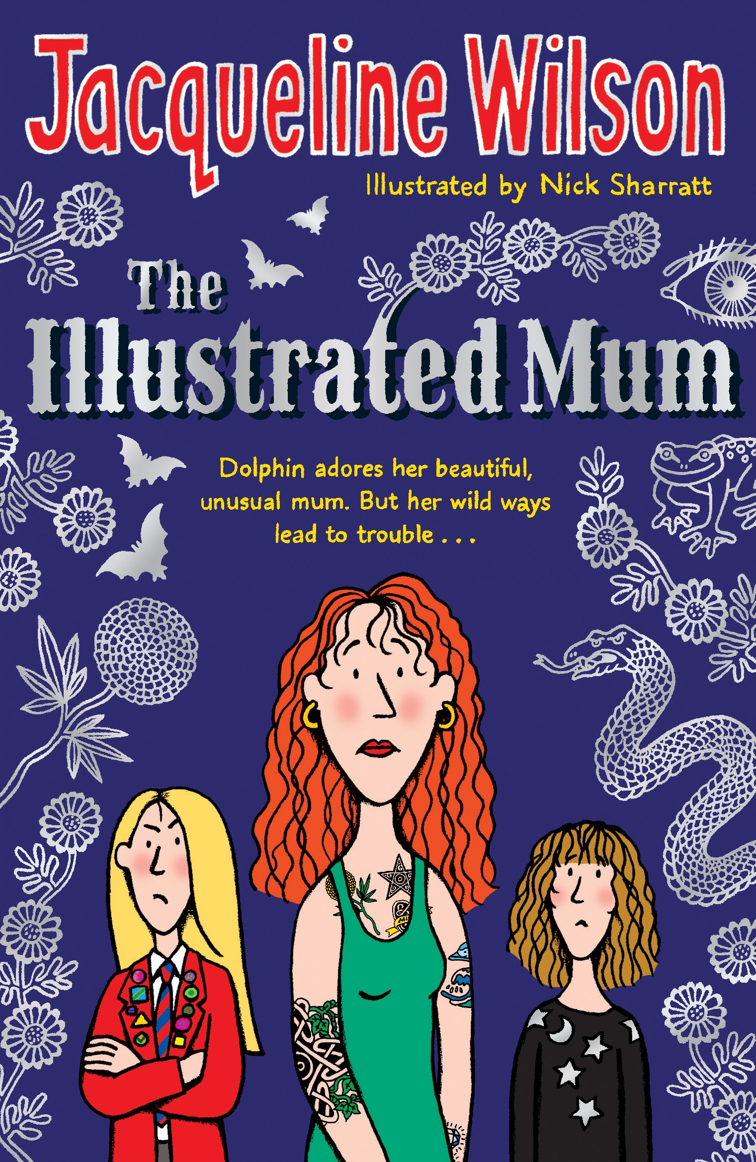 Illustrated Book Cover Names : The illustrated mum by jacqueline wilson penguin books