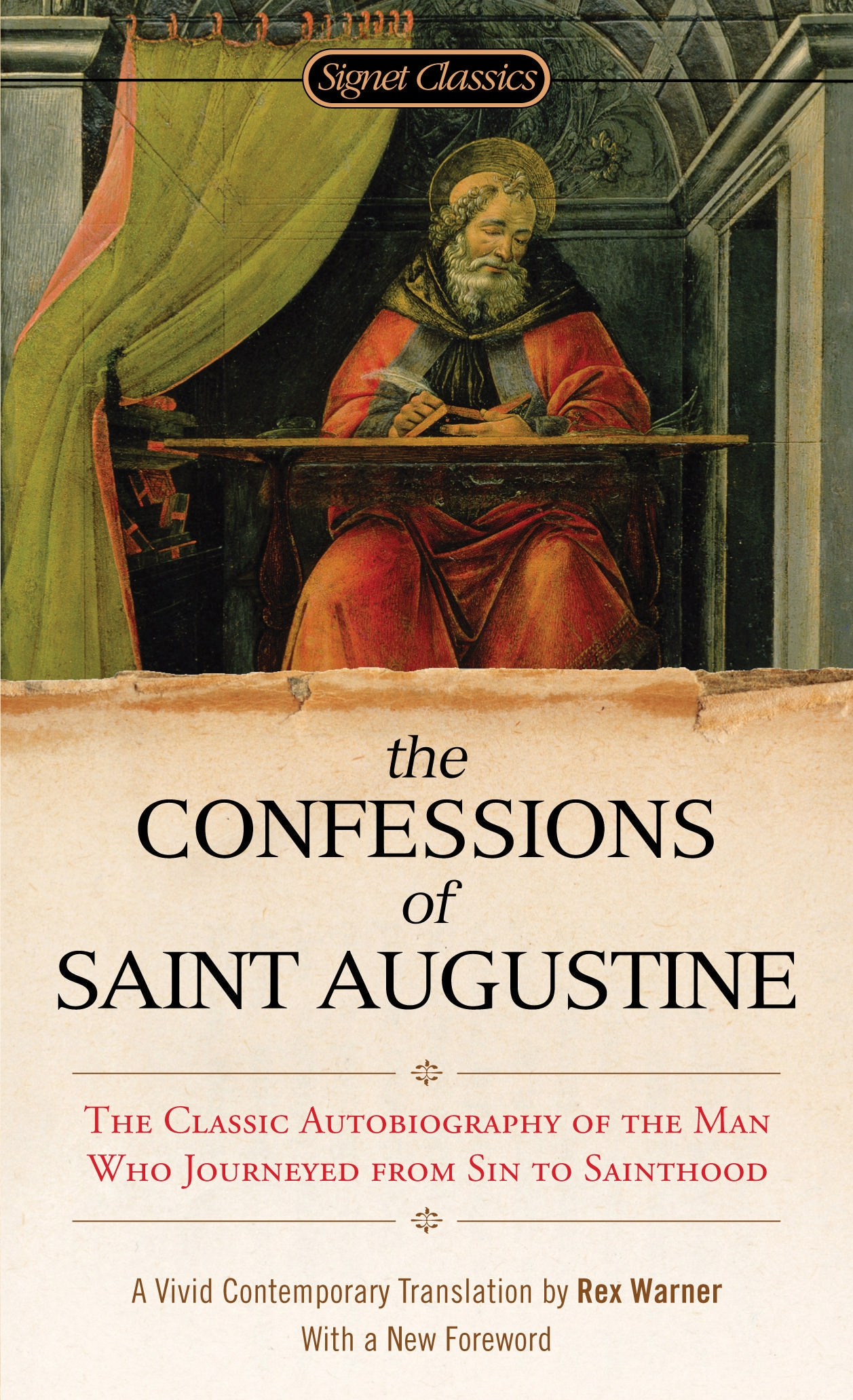 the confessions of st augustine a The confessions: the confessions, spiritual self-examination by saint augustine, written in latin as confessiones about 400 ce the book tells of augustine's restless youth and of the stormy spiritual voyage that had ended some 12 years before the writing in the haven of the roman catholic church.