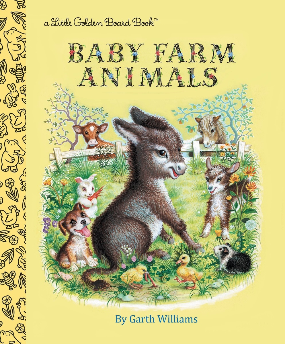 Baby Farm Animals Board Book