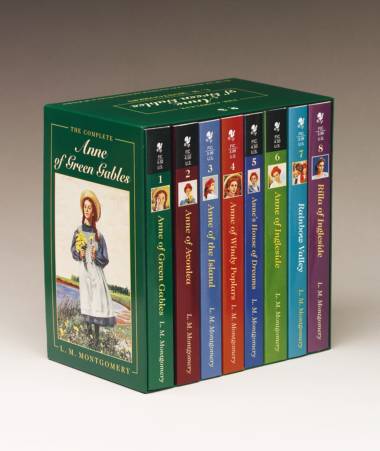 Picture of Anne of Green Gables, Complete 8-Book Box Set