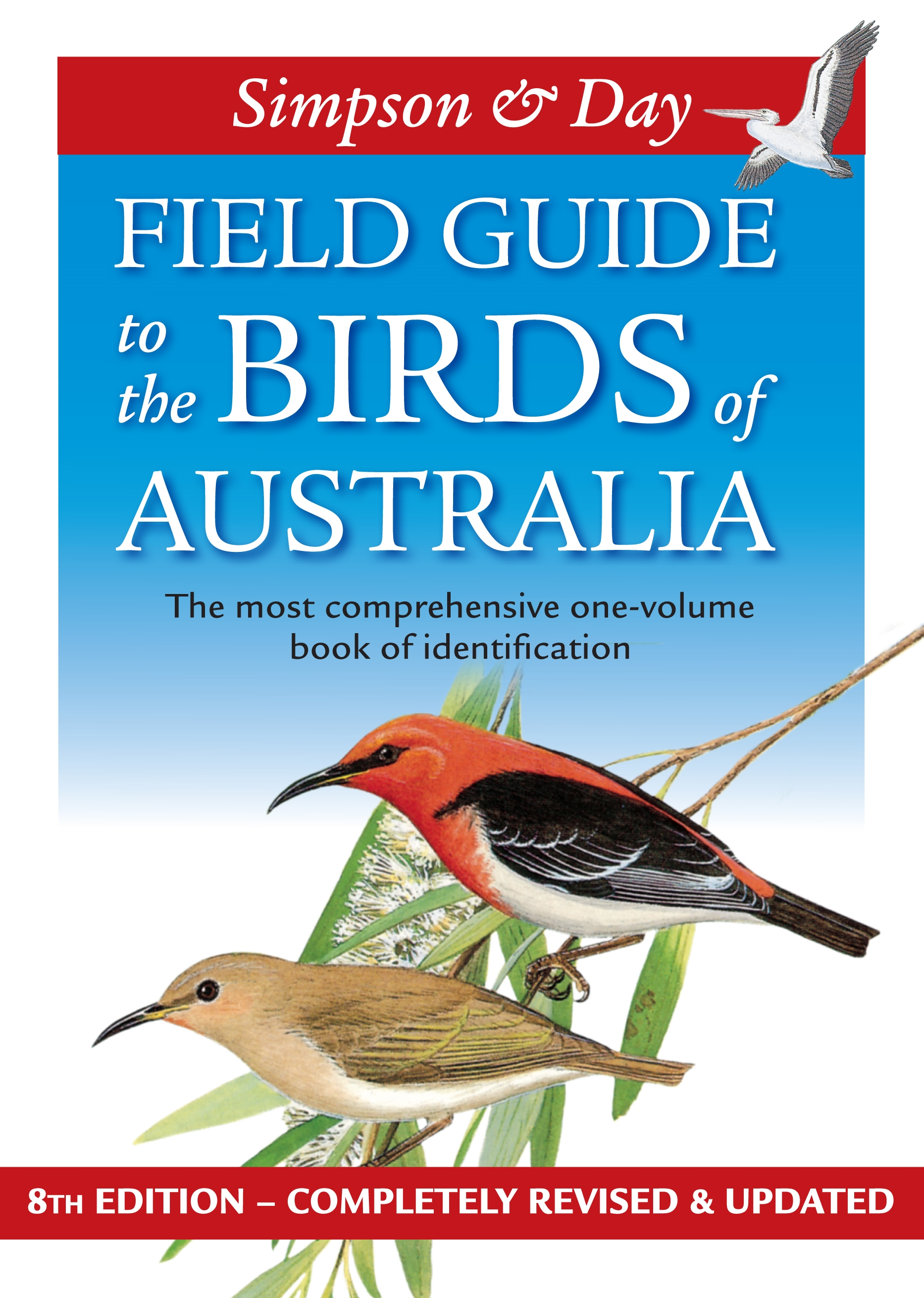 Book Cover:  Field Guide to the Birds of Australia - 8th Edition