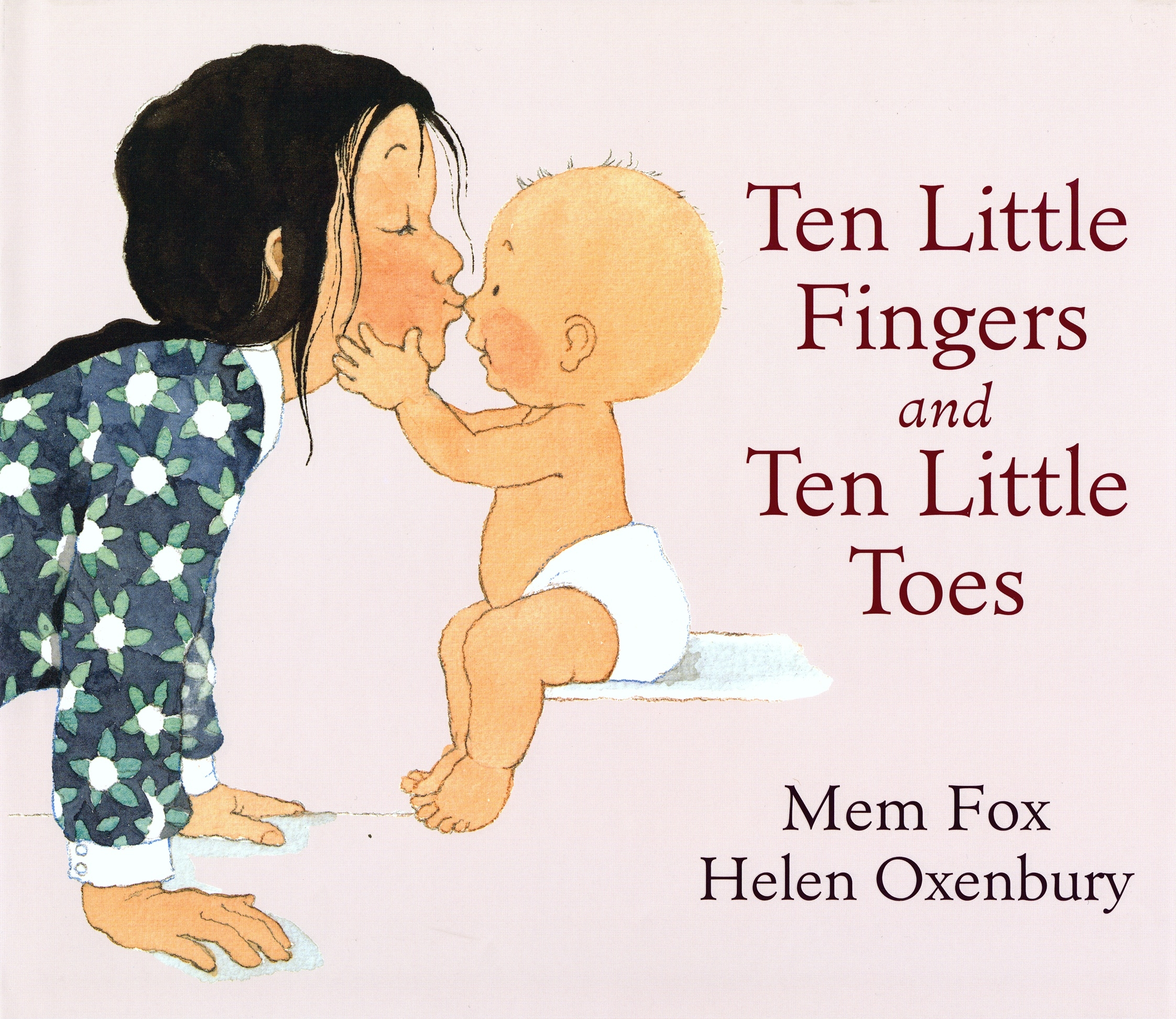 Book Cover:  Ten Little Fingers And Ten Little Toes