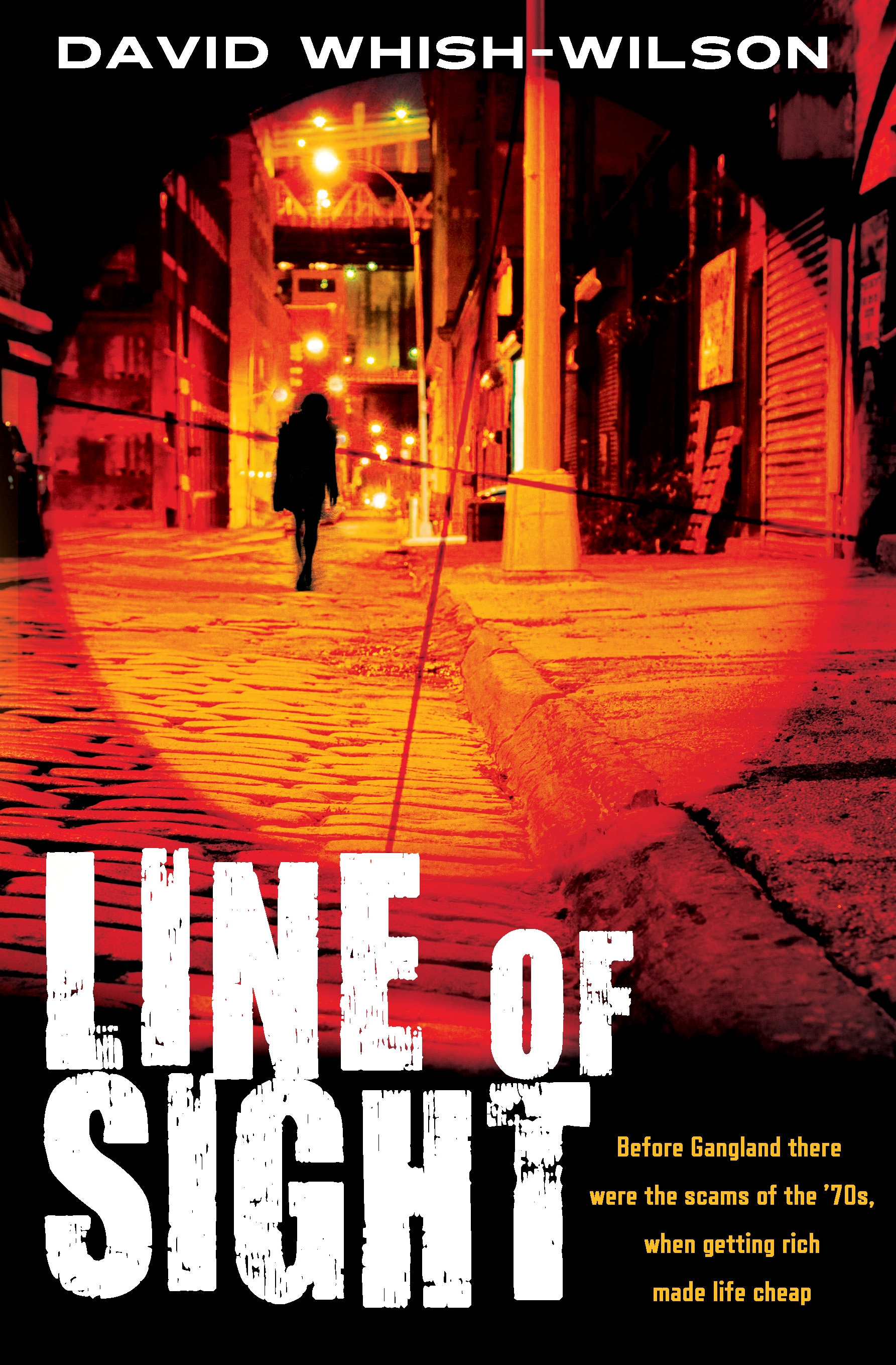 Book Cover:  Line of Sight